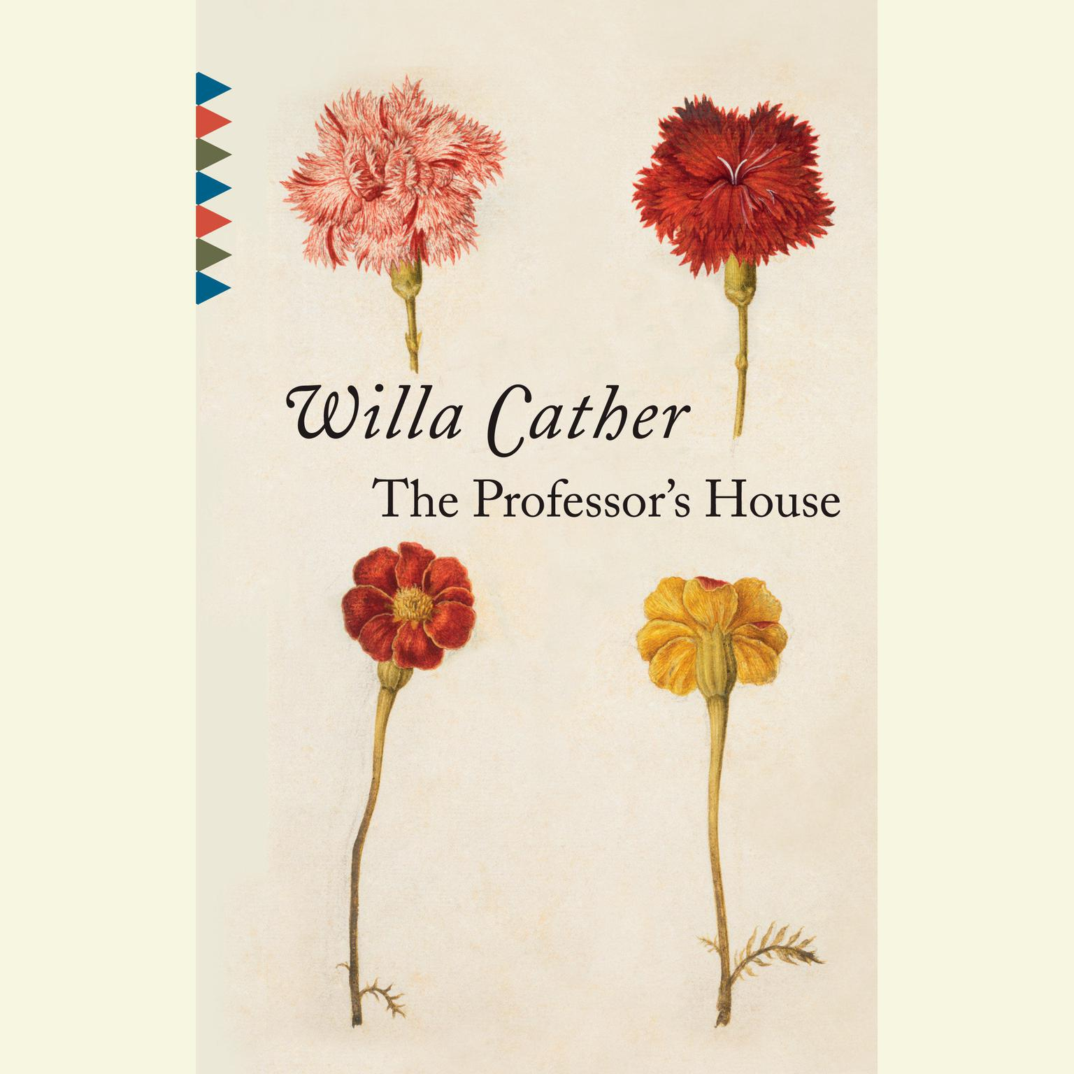 Printable The Professor's House Audiobook Cover Art