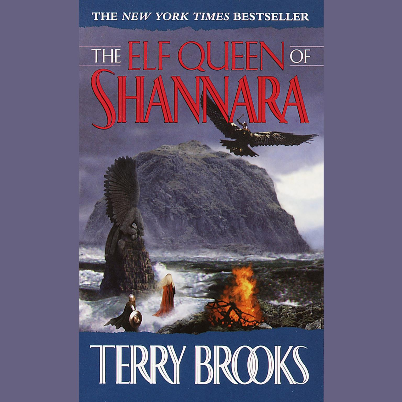 Printable The Elf Queen of Shannara Audiobook Cover Art