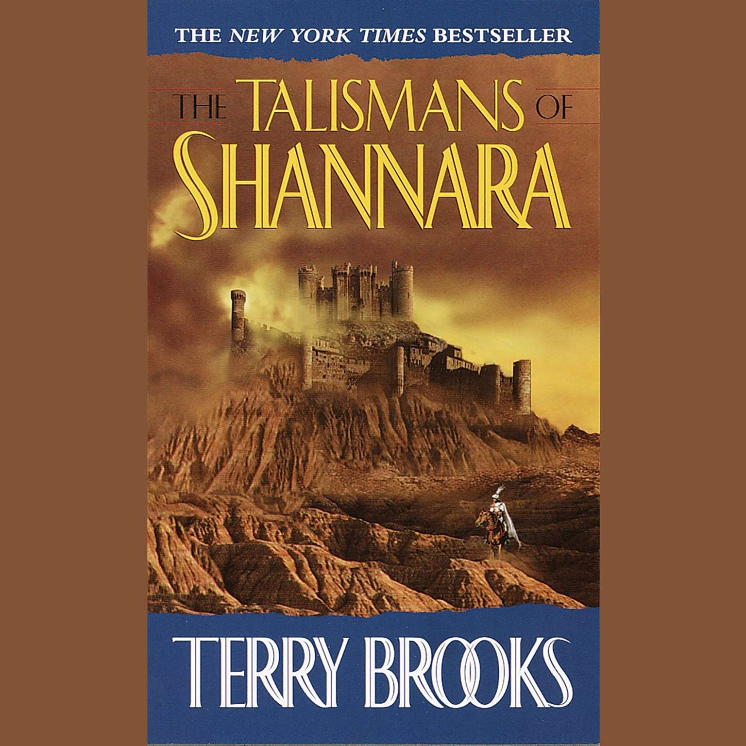 Printable The Talismans of Shannara Audiobook Cover Art