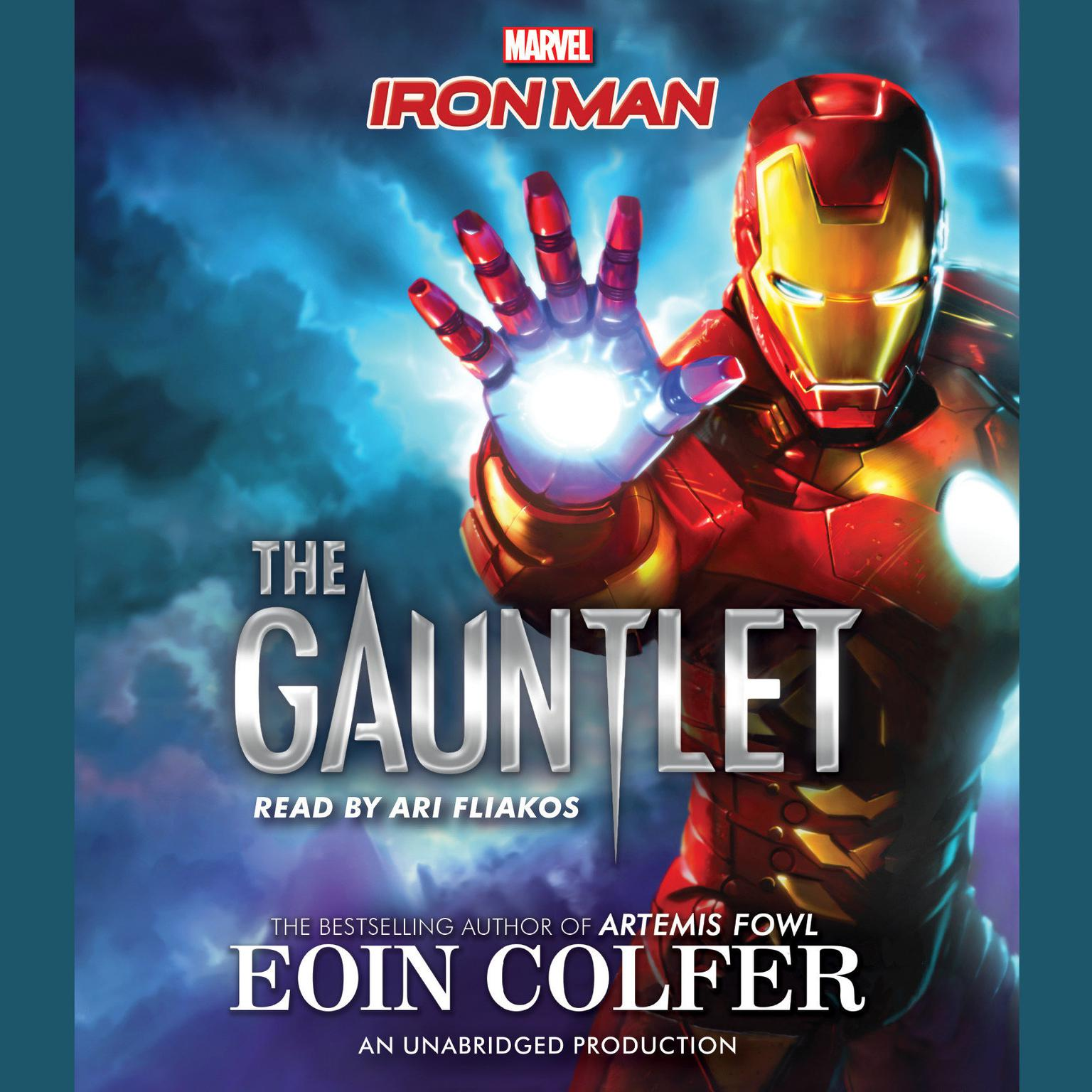 Printable Iron Man: The Gauntlet Audiobook Cover Art