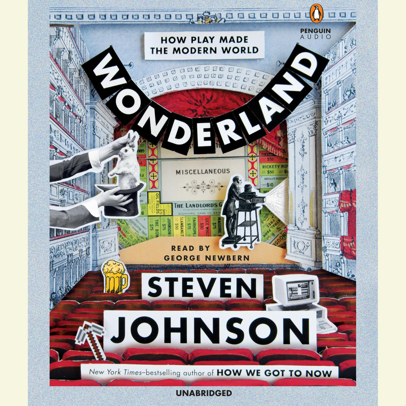 Printable Wonderland: How Play Made the Modern World Audiobook Cover Art