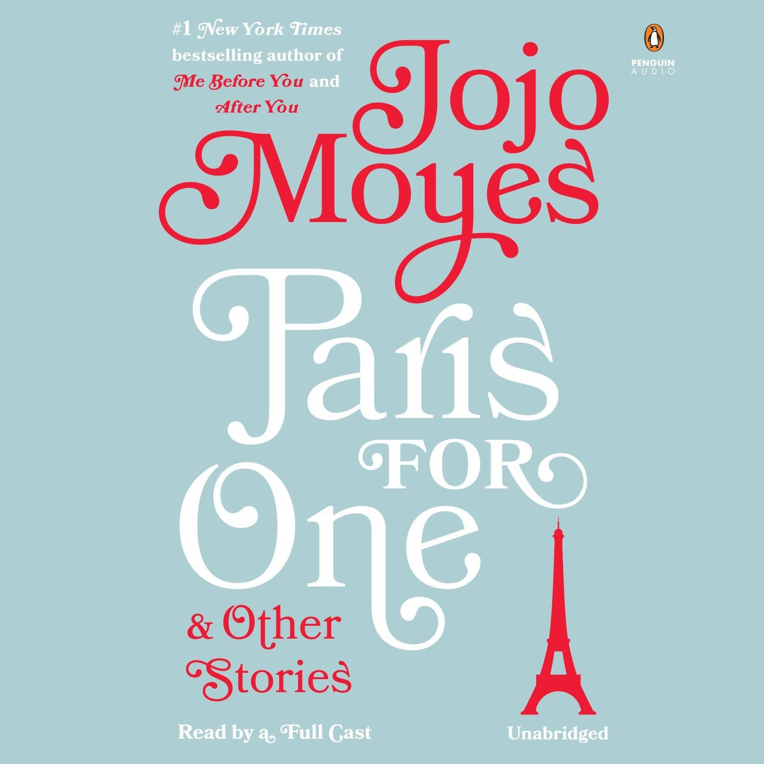 Printable Paris for One and Other Stories Audiobook Cover Art