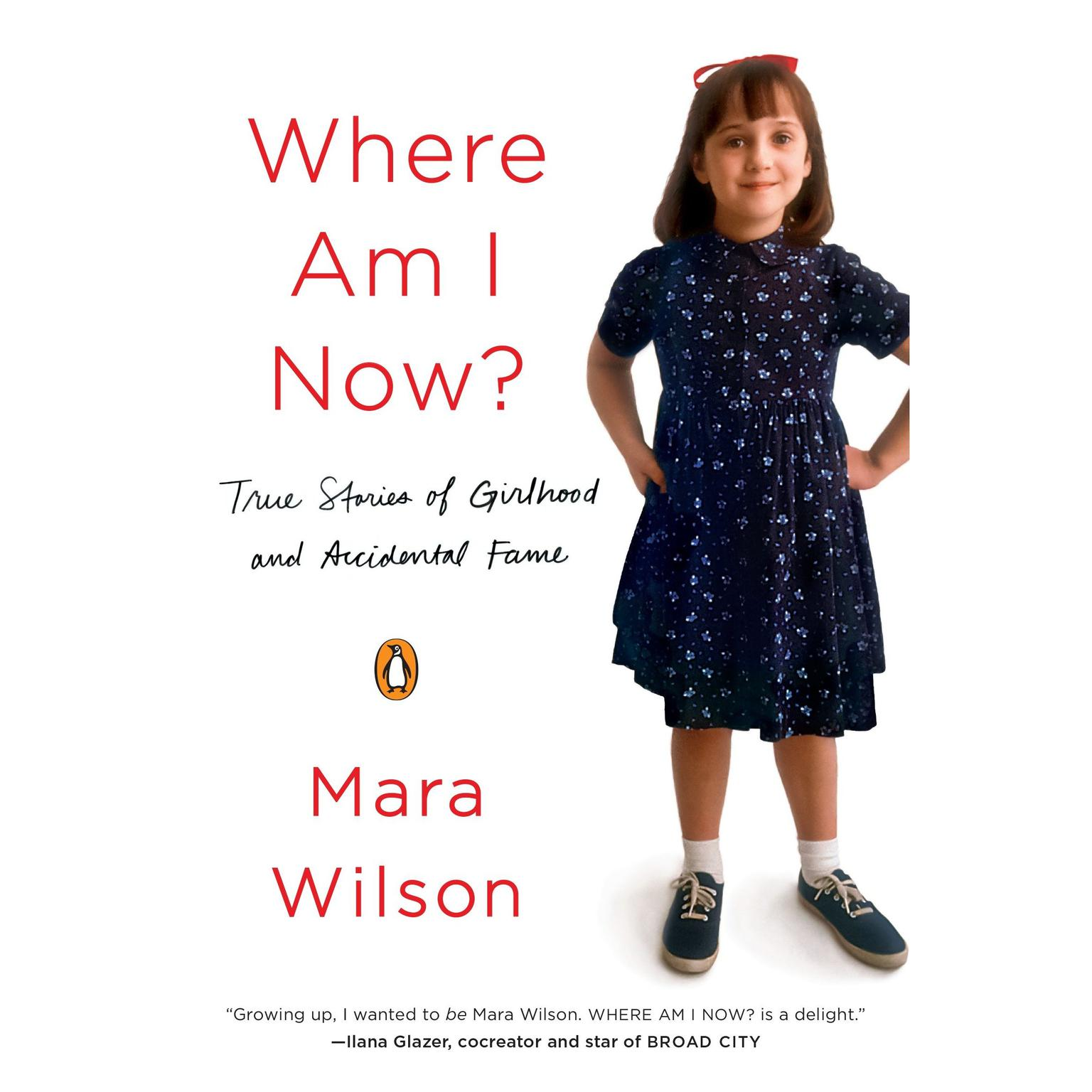 Printable Where Am I Now?: True Stories of Girlhood and Accidental Fame Audiobook Cover Art