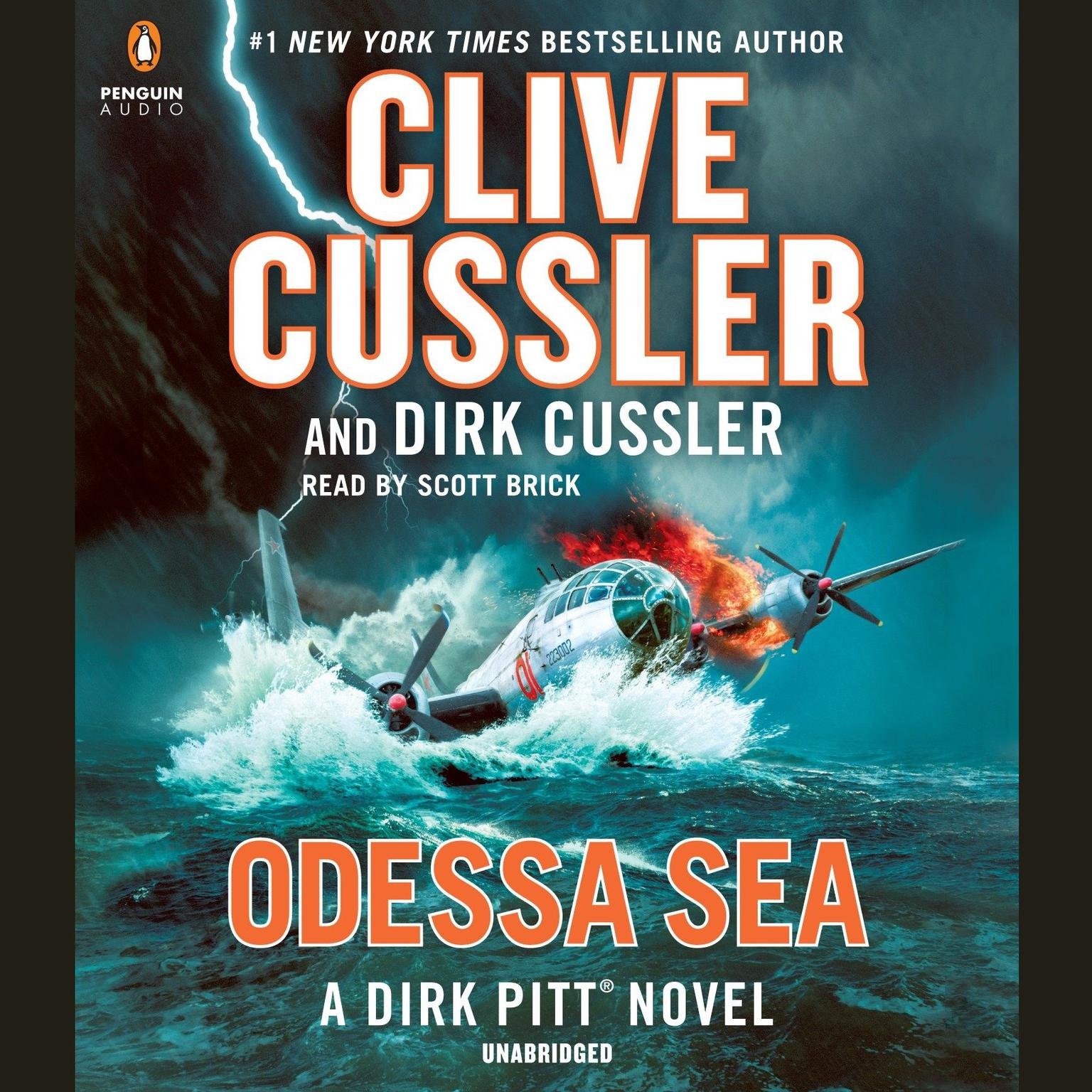 Printable Odessa Sea Audiobook Cover Art