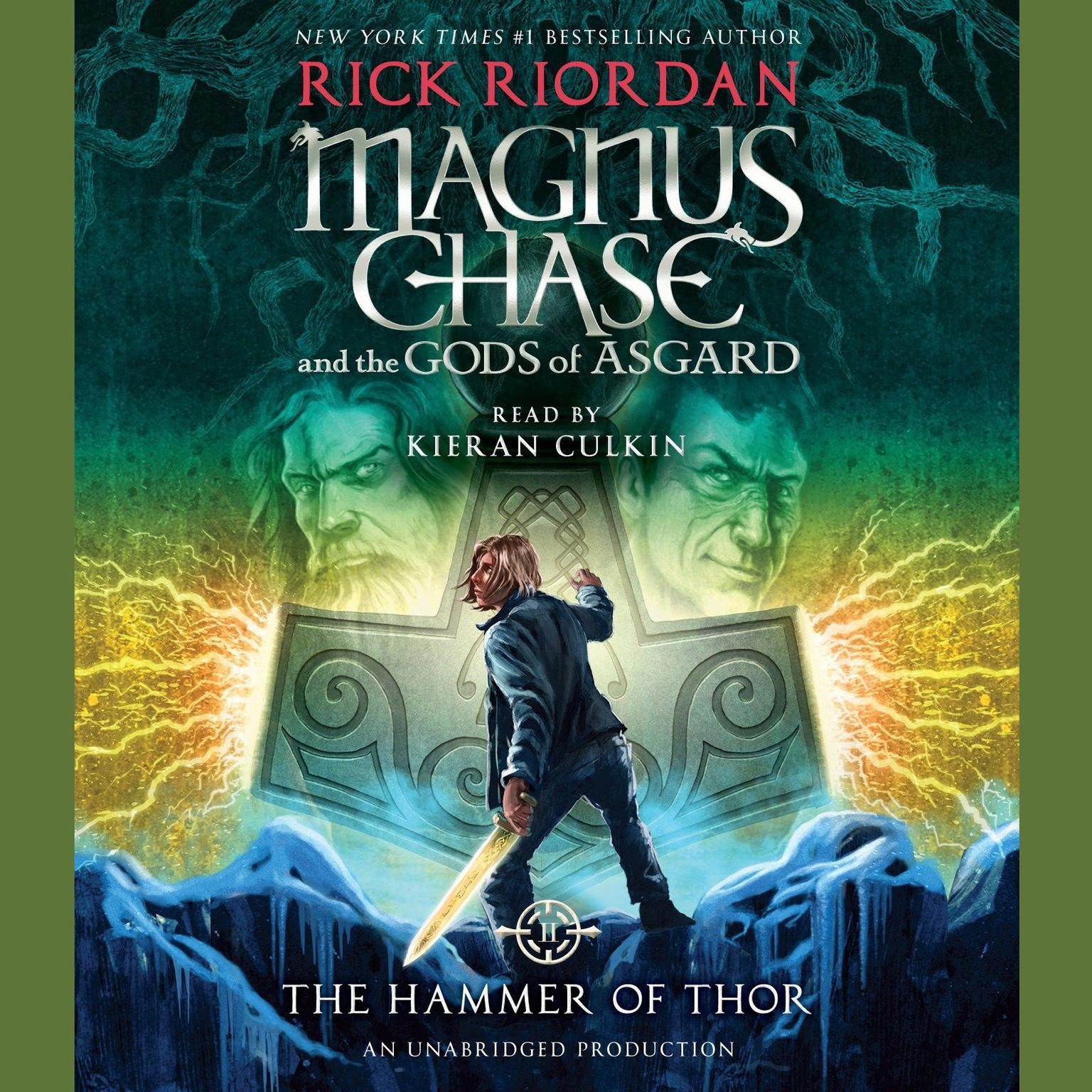 Printable Magnus Chase and the Gods of Asgard: The Hammer of Thor Audiobook Cover Art