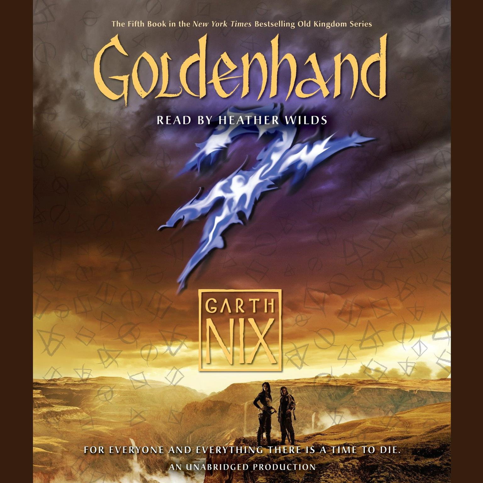 Printable Goldenhand Audiobook Cover Art