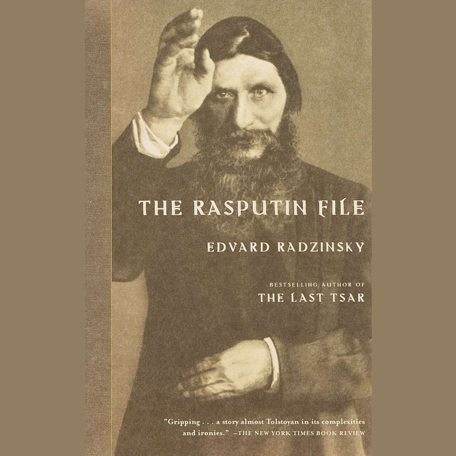 Printable The Rasputin File Audiobook Cover Art