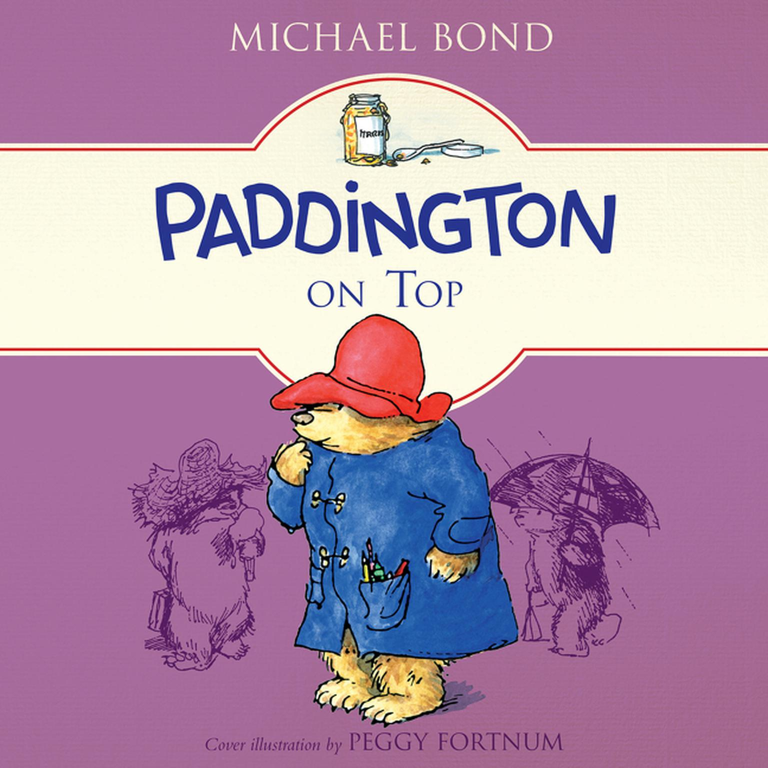 Printable Paddington on Top Audiobook Cover Art