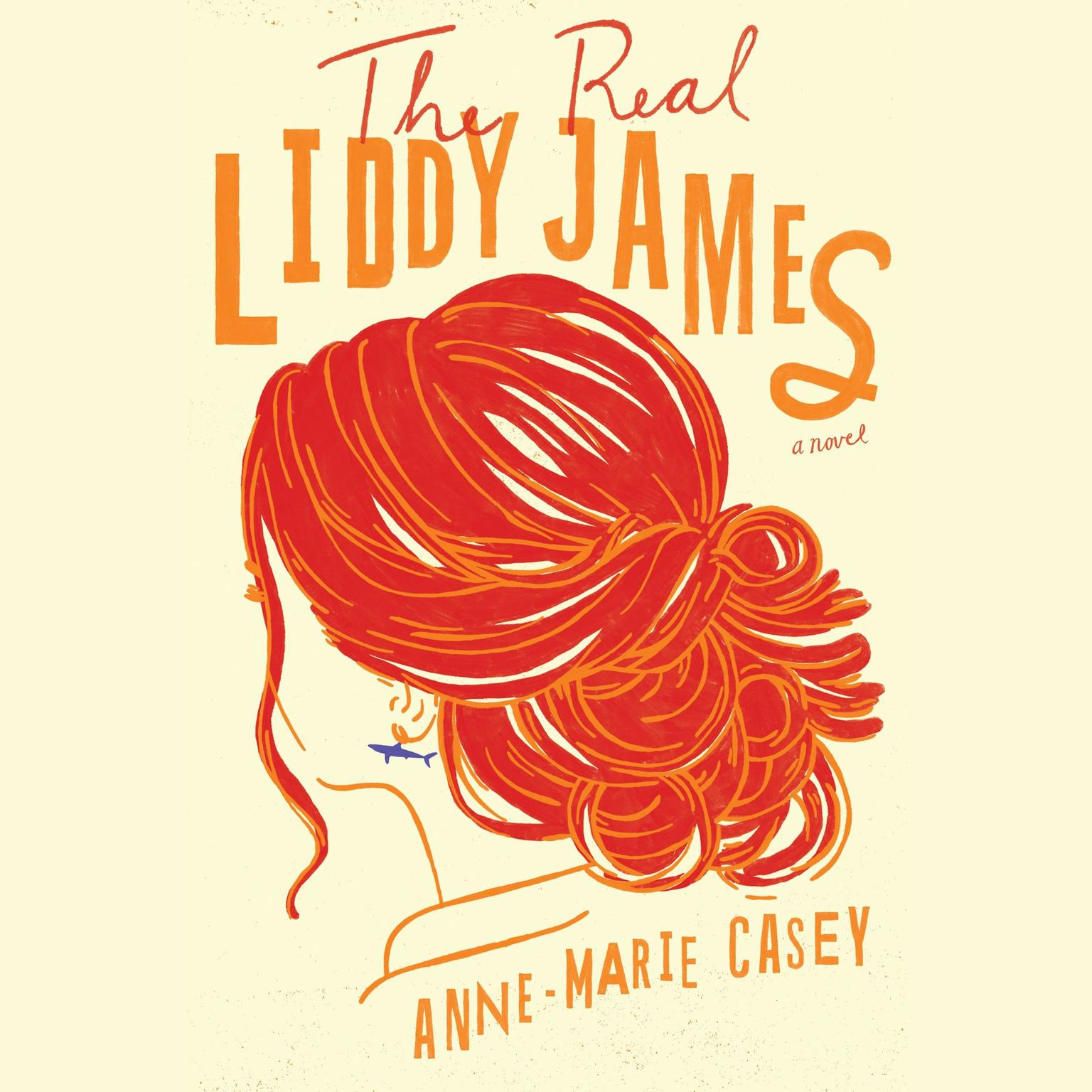 Printable The Real Liddy James Audiobook Cover Art