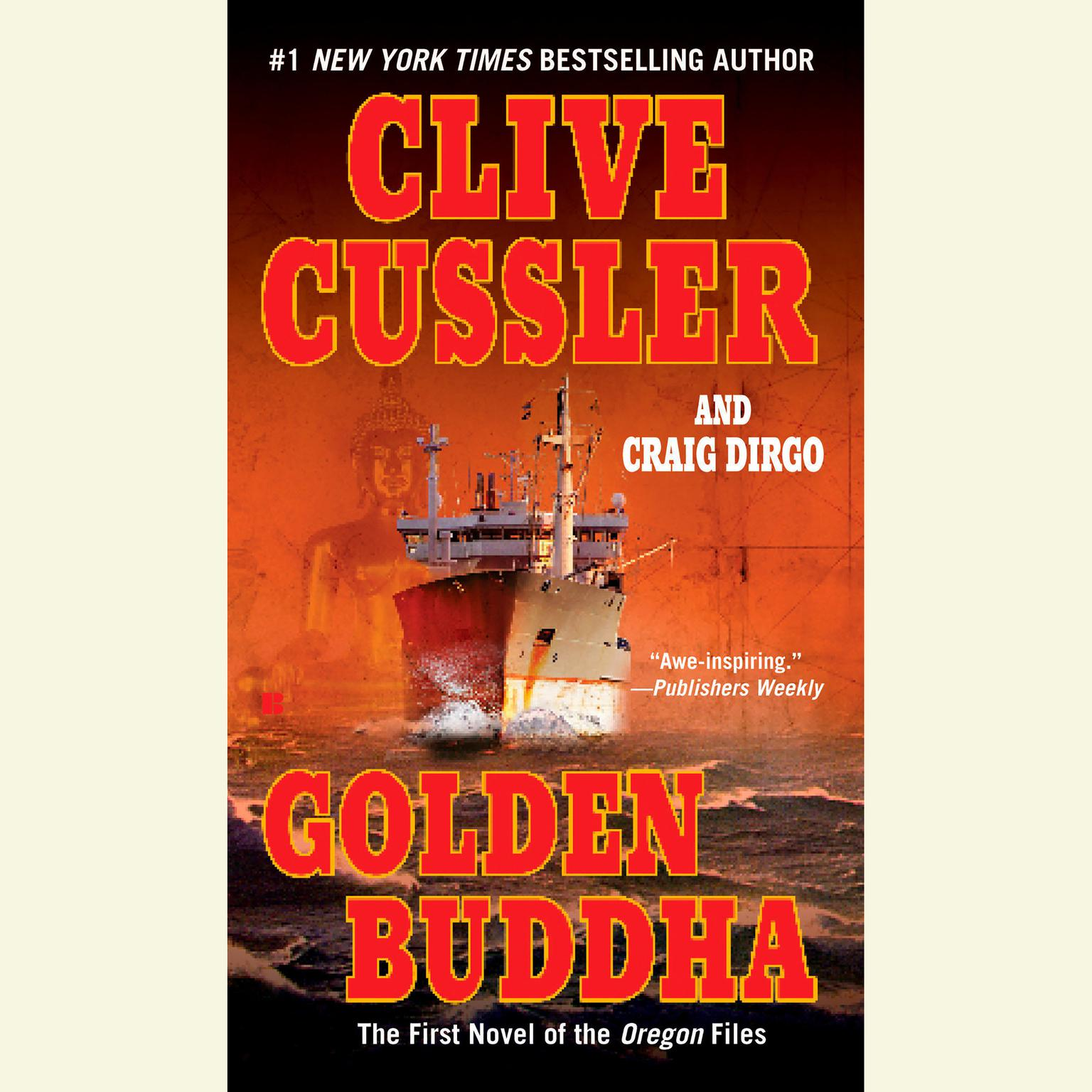 Printable Golden Buddha Audiobook Cover Art