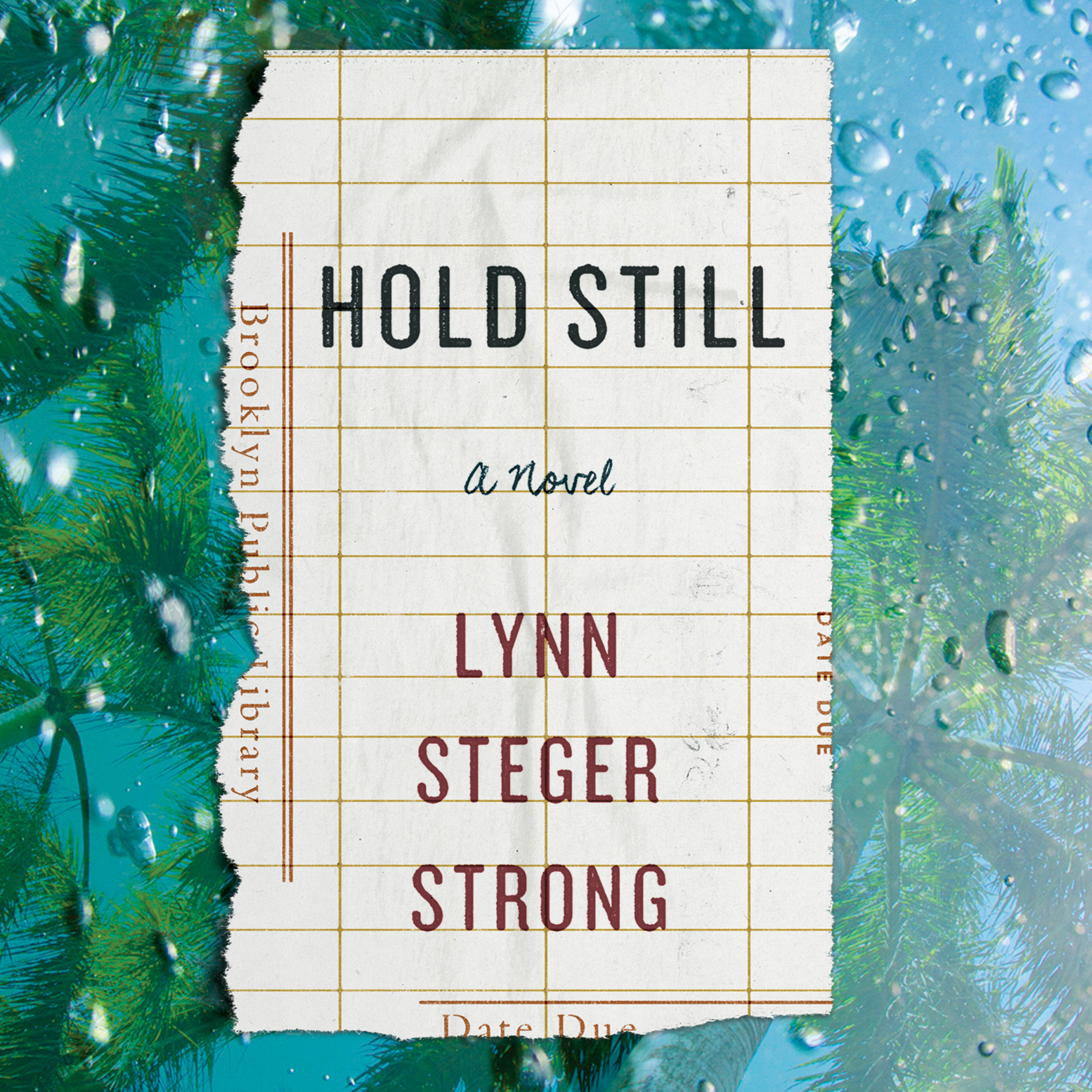 Printable Hold Still Audiobook Cover Art