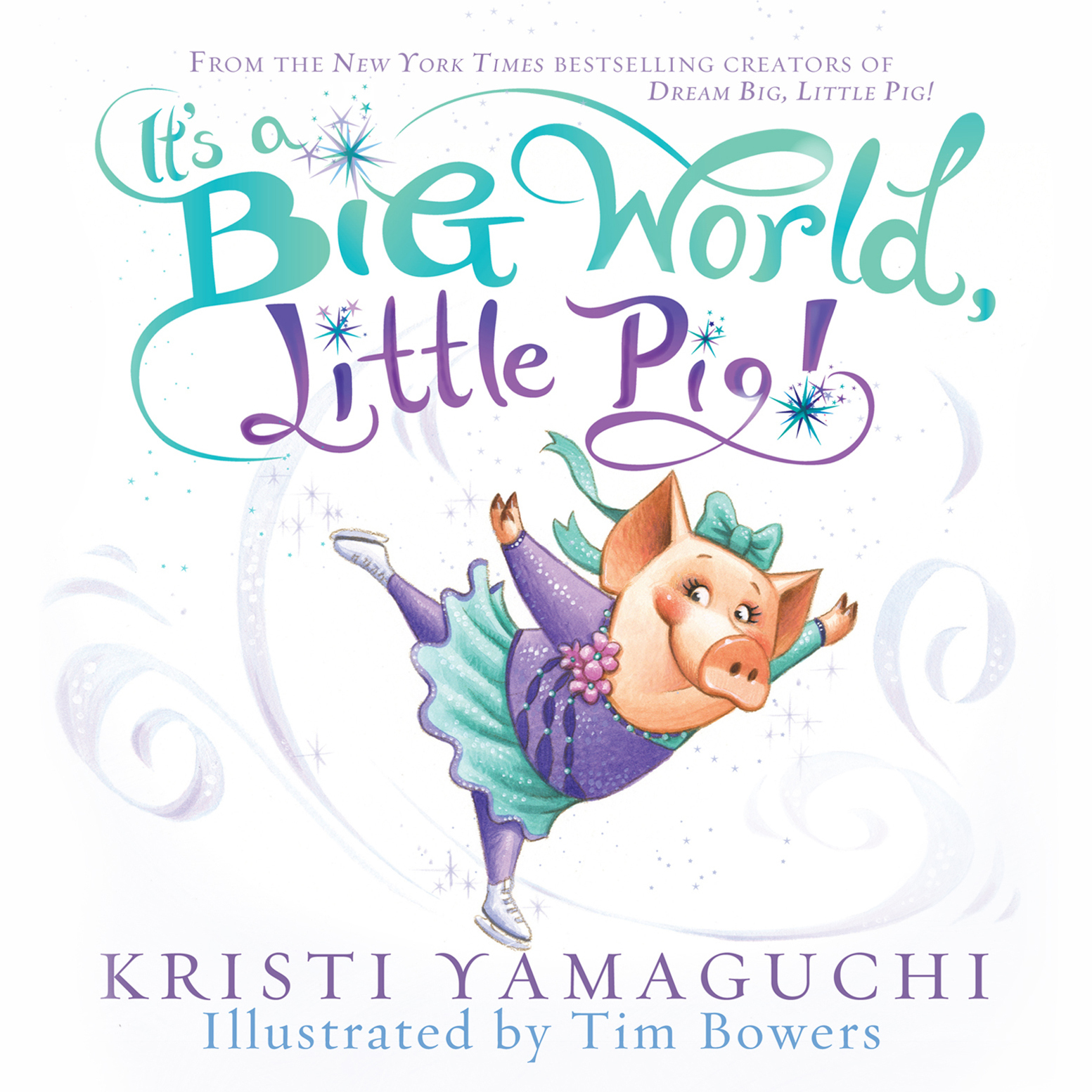 Printable It's a Big World, Little Pig Audiobook Cover Art