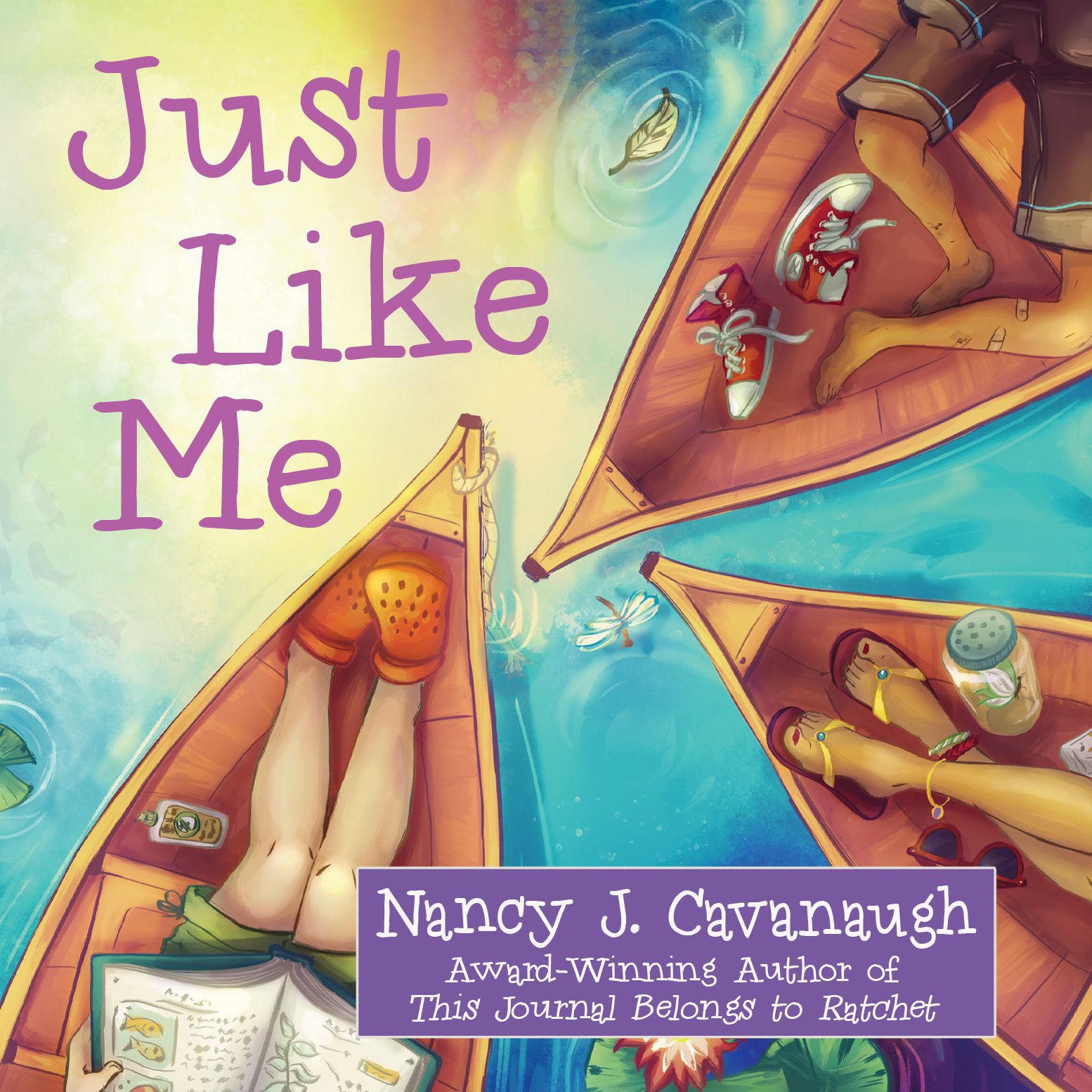 Printable Just like Me Audiobook Cover Art