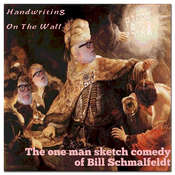 Handwriting on the Wall Audiobook, by Bill Schmalfeldt