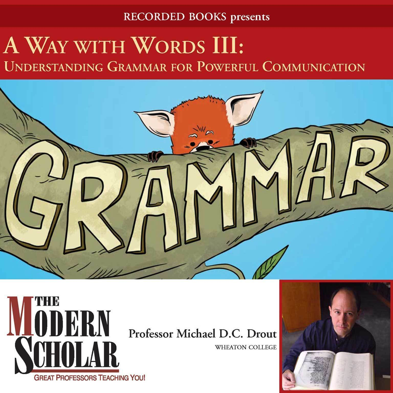 Printable A Way With Words III: Grammar Audiobook Cover Art