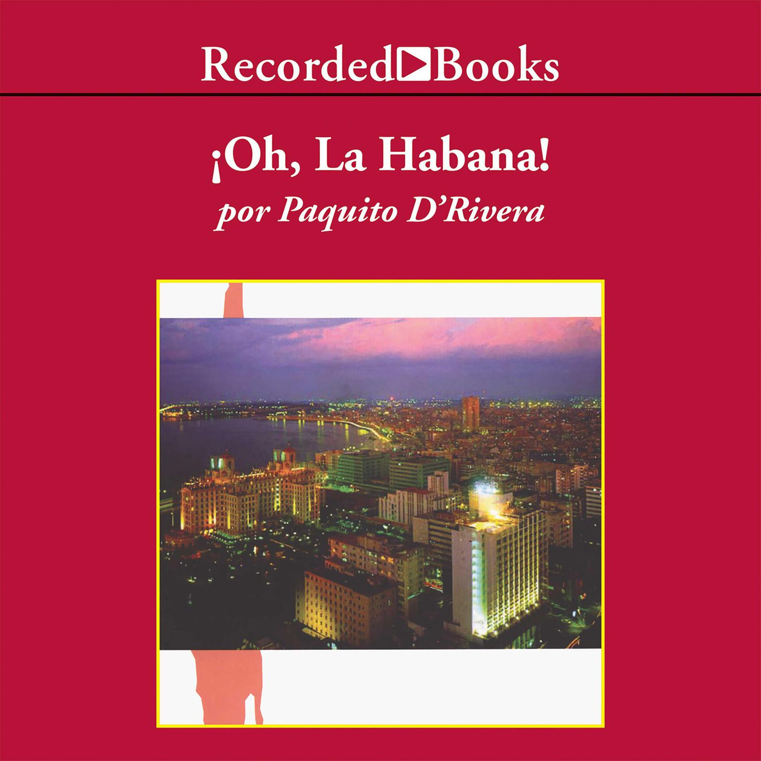Printable !Oh la Habana! Audiobook Cover Art