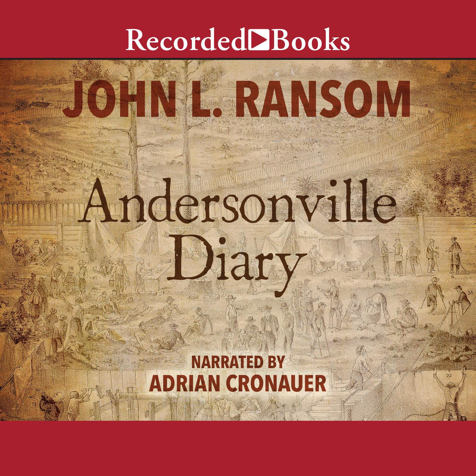 Printable Andersonville Diary Audiobook Cover Art