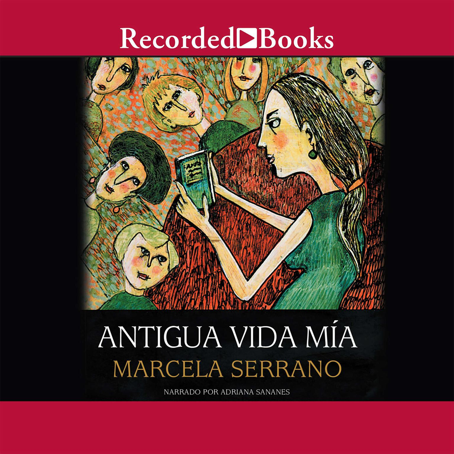 Printable Antigua vida mia Audiobook Cover Art