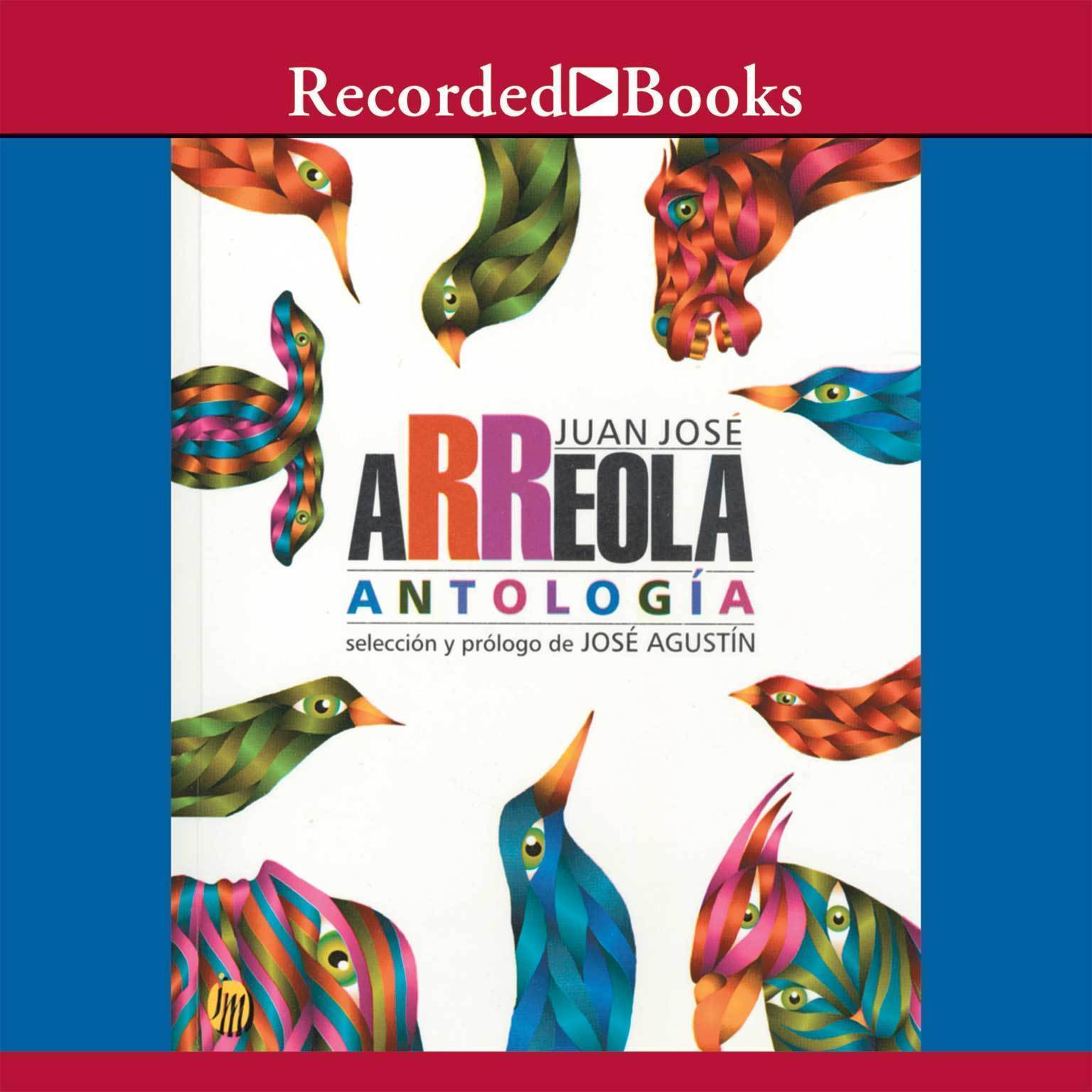 Printable Antologia Audiobook Cover Art