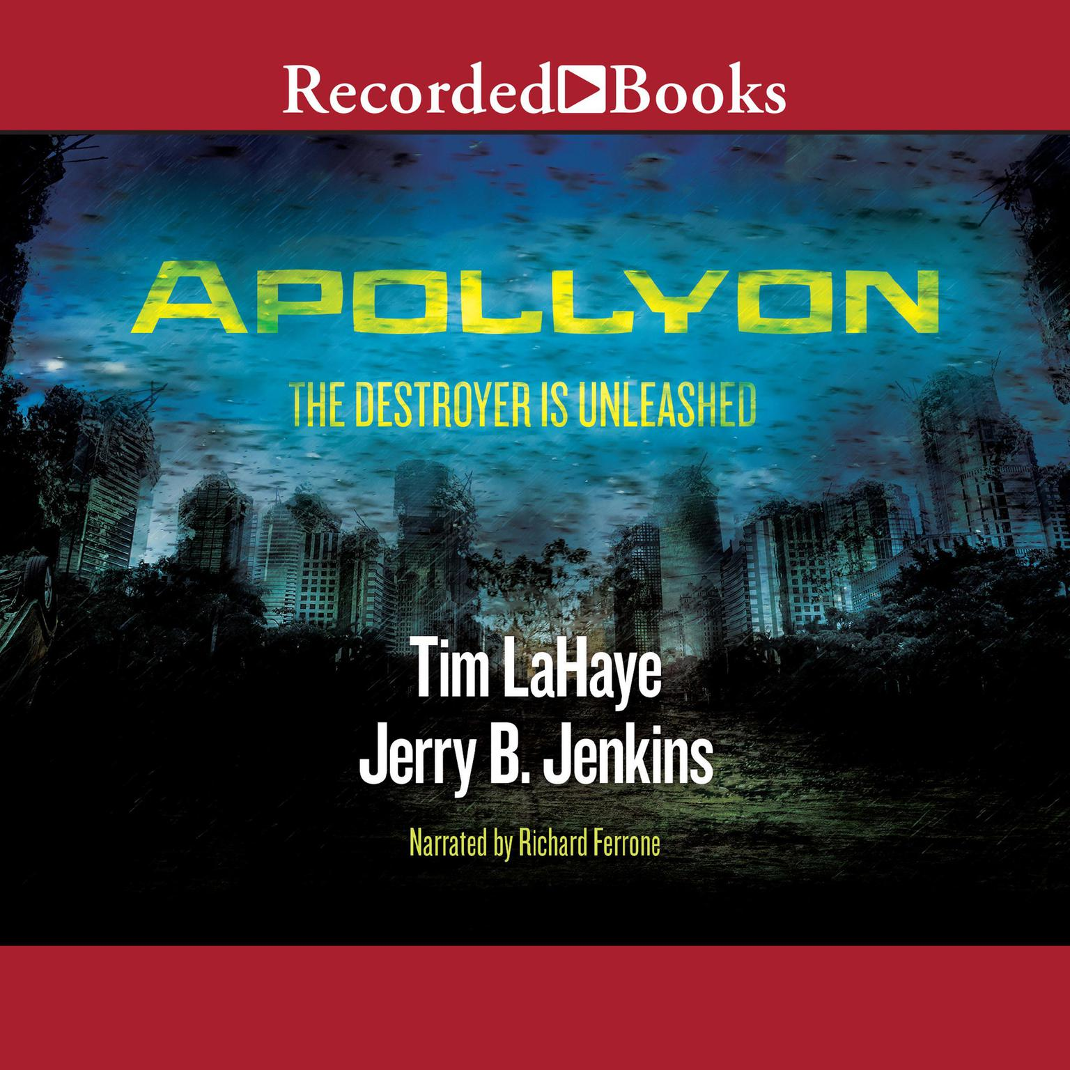 Printable Apollyon: The Destroyer is Unleashed Audiobook Cover Art