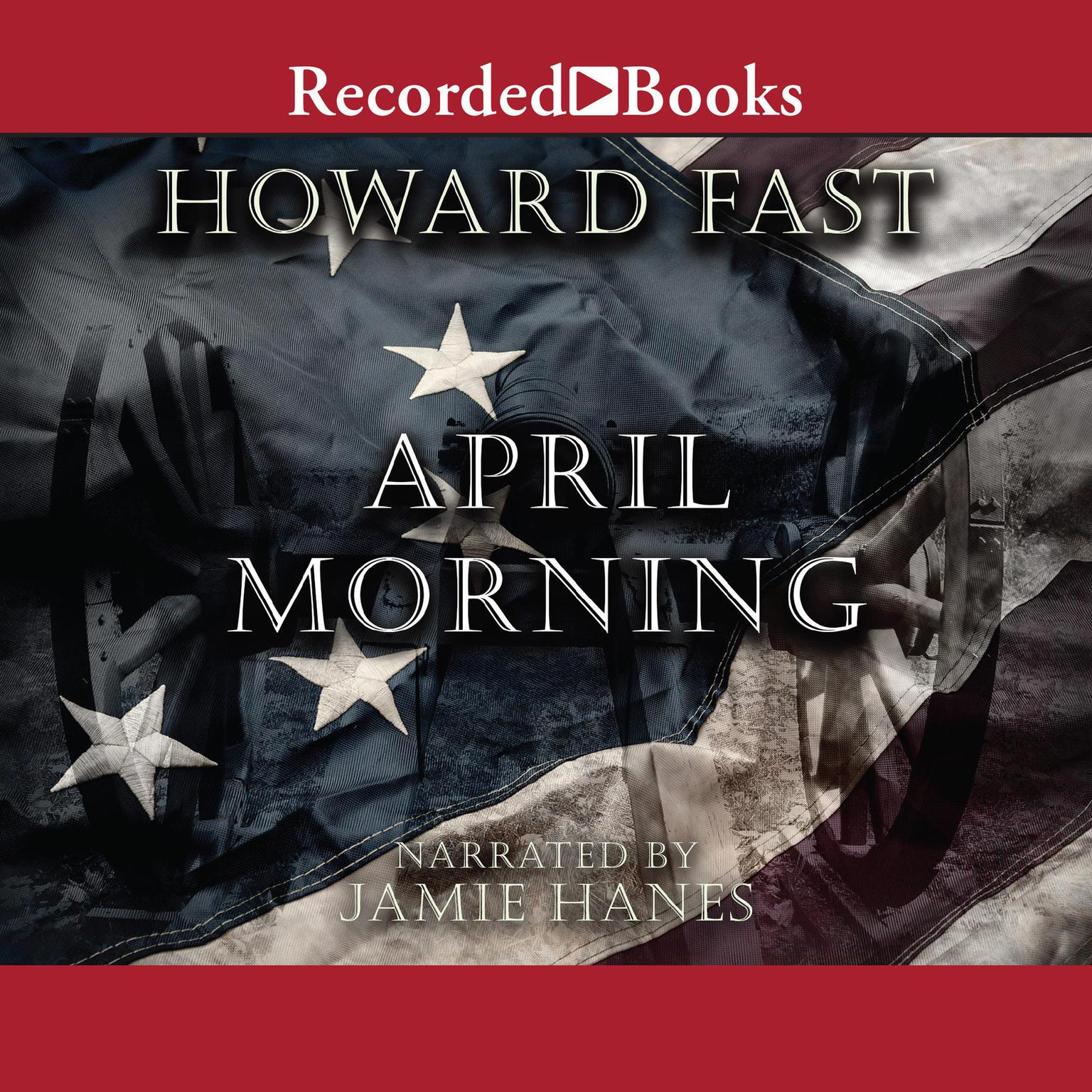 Printable April Morning Audiobook Cover Art