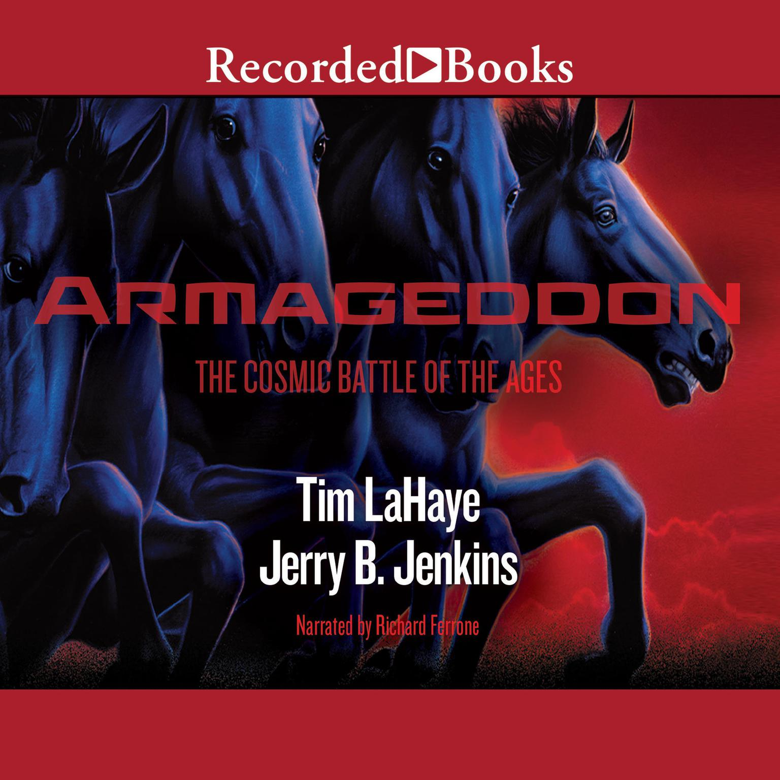 Printable Armageddon: The Cosmic Battle of the Ages: Left Behind, Book 11 Audiobook Cover Art