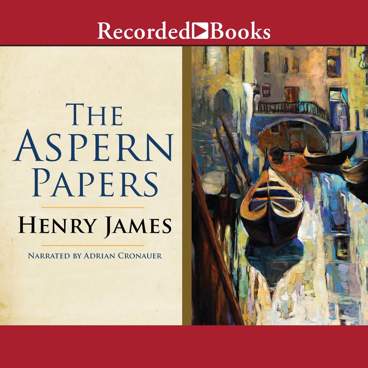 Printable The Aspern Papers Audiobook Cover Art