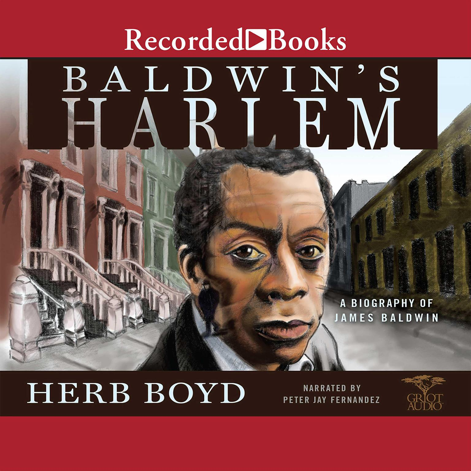 Printable Baldwin's Harlem: A Biography of James Baldwin Audiobook Cover Art