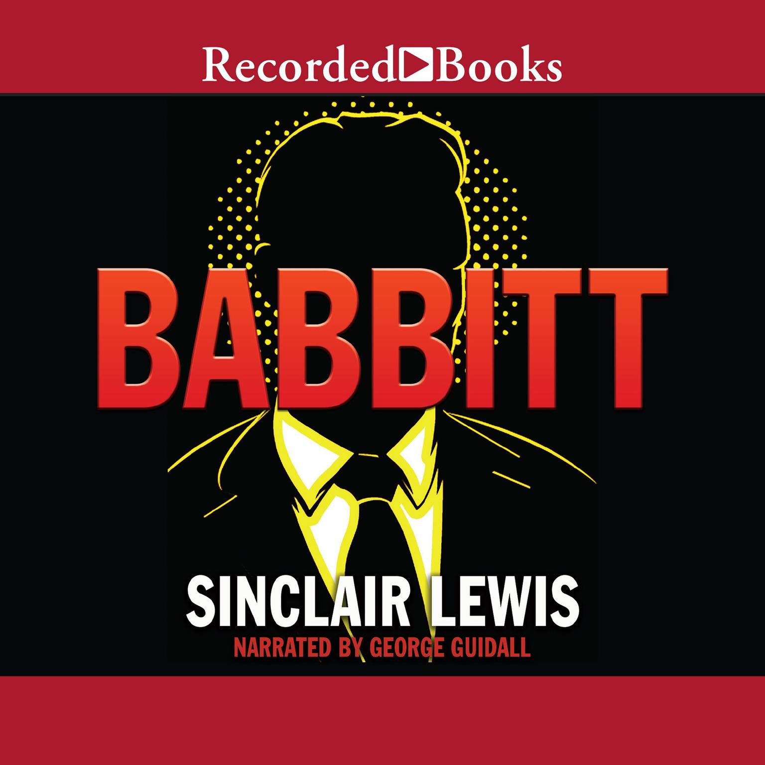 Printable Babbitt Audiobook Cover Art