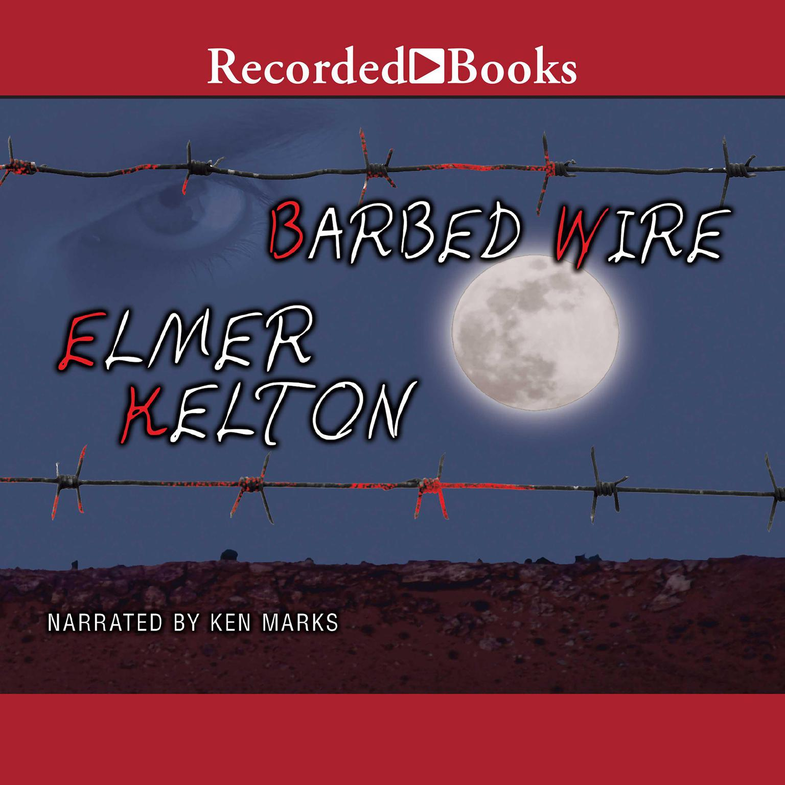 Printable Barbed Wire Audiobook Cover Art