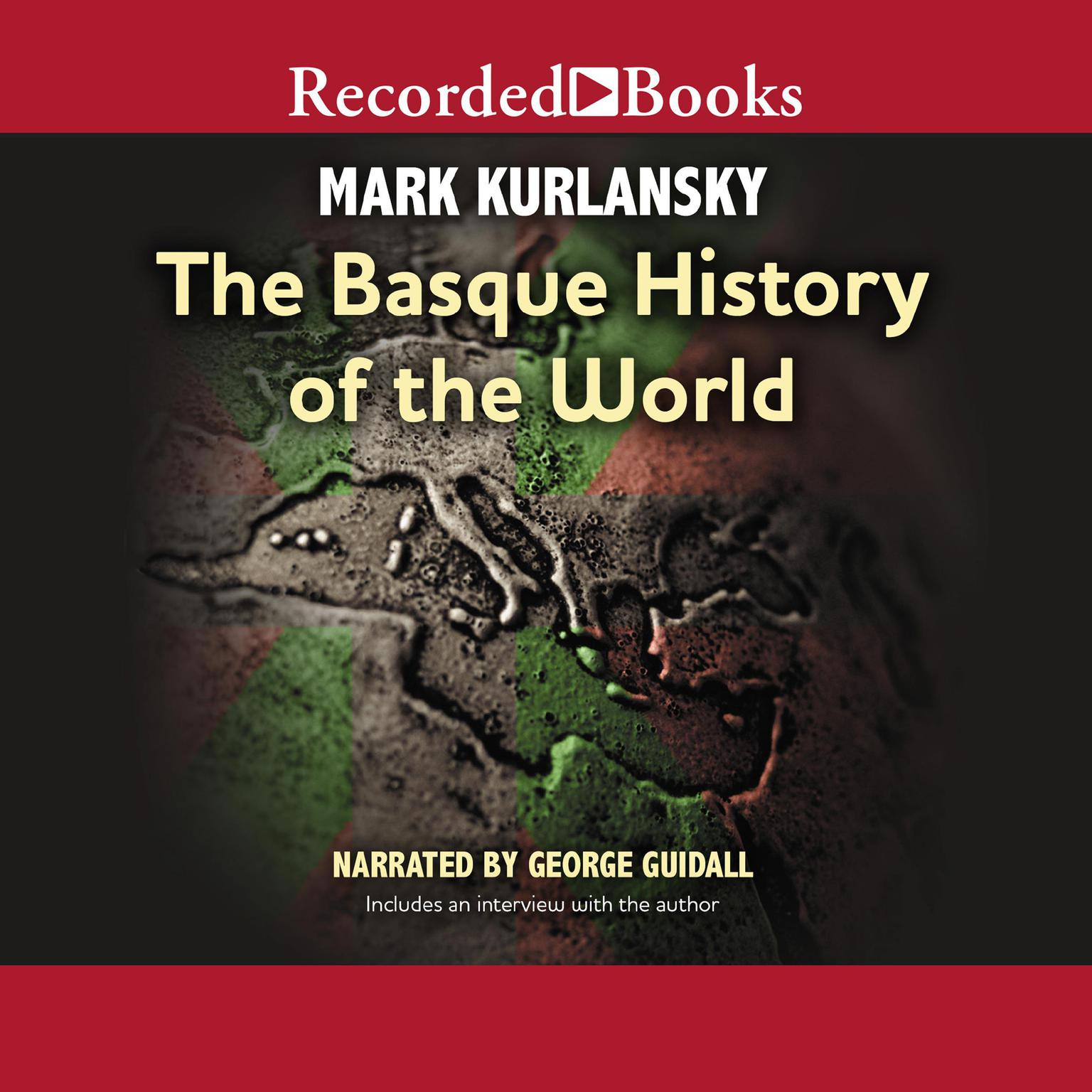 Printable Basque History of the World Audiobook Cover Art