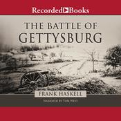 The Battle of Gettysburg Audiobook, by Frank Haskell