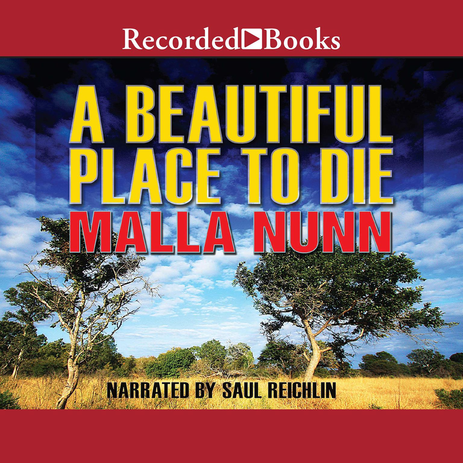 Printable A Beautiful Place to Die Audiobook Cover Art
