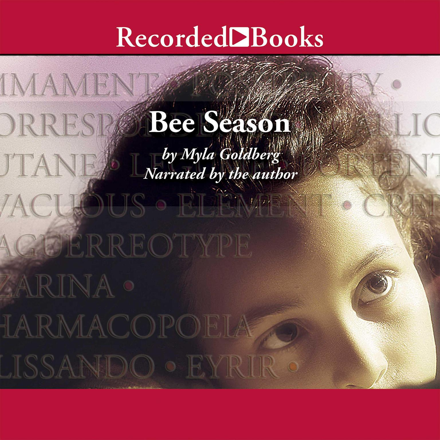 Printable Bee Season Audiobook Cover Art
