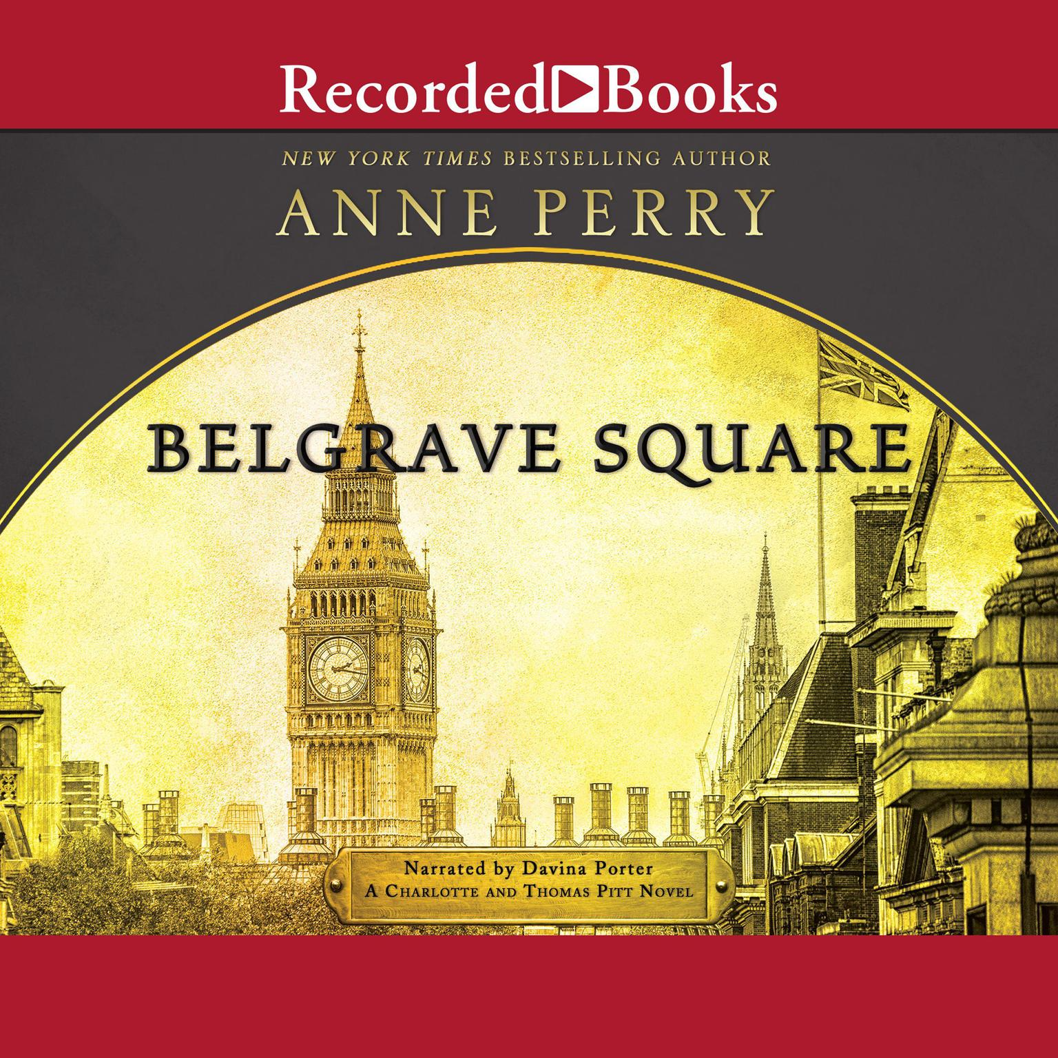 Printable Belgrave Square Audiobook Cover Art