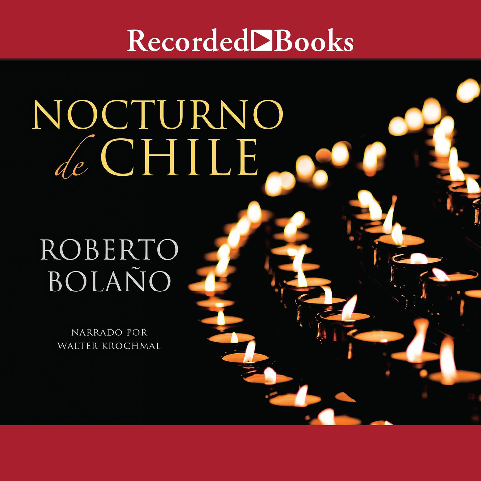 Printable Nocturno de Chile Audiobook Cover Art
