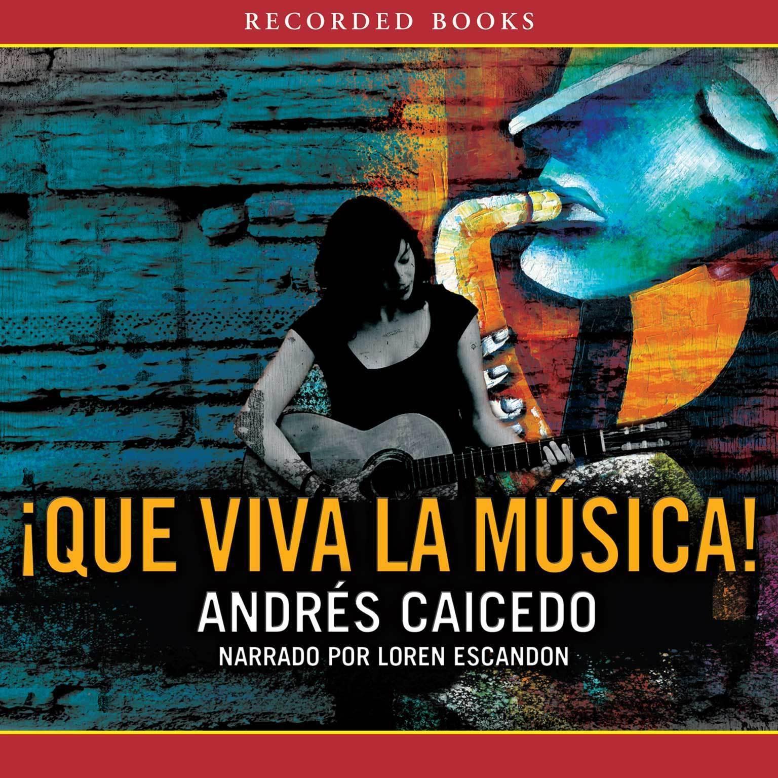 Printable Que viva la musical Audiobook Cover Art