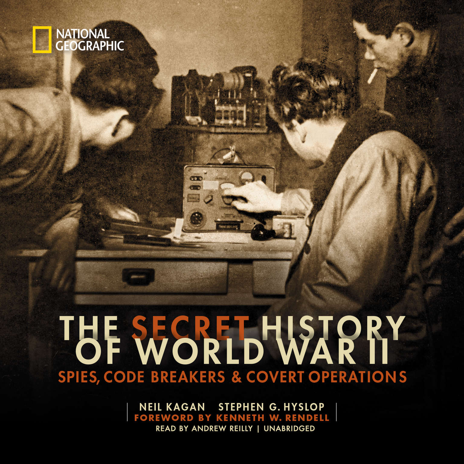 Printable The Secret History of World War II: Spies, Code Breakers & Covert Operations Audiobook Cover Art