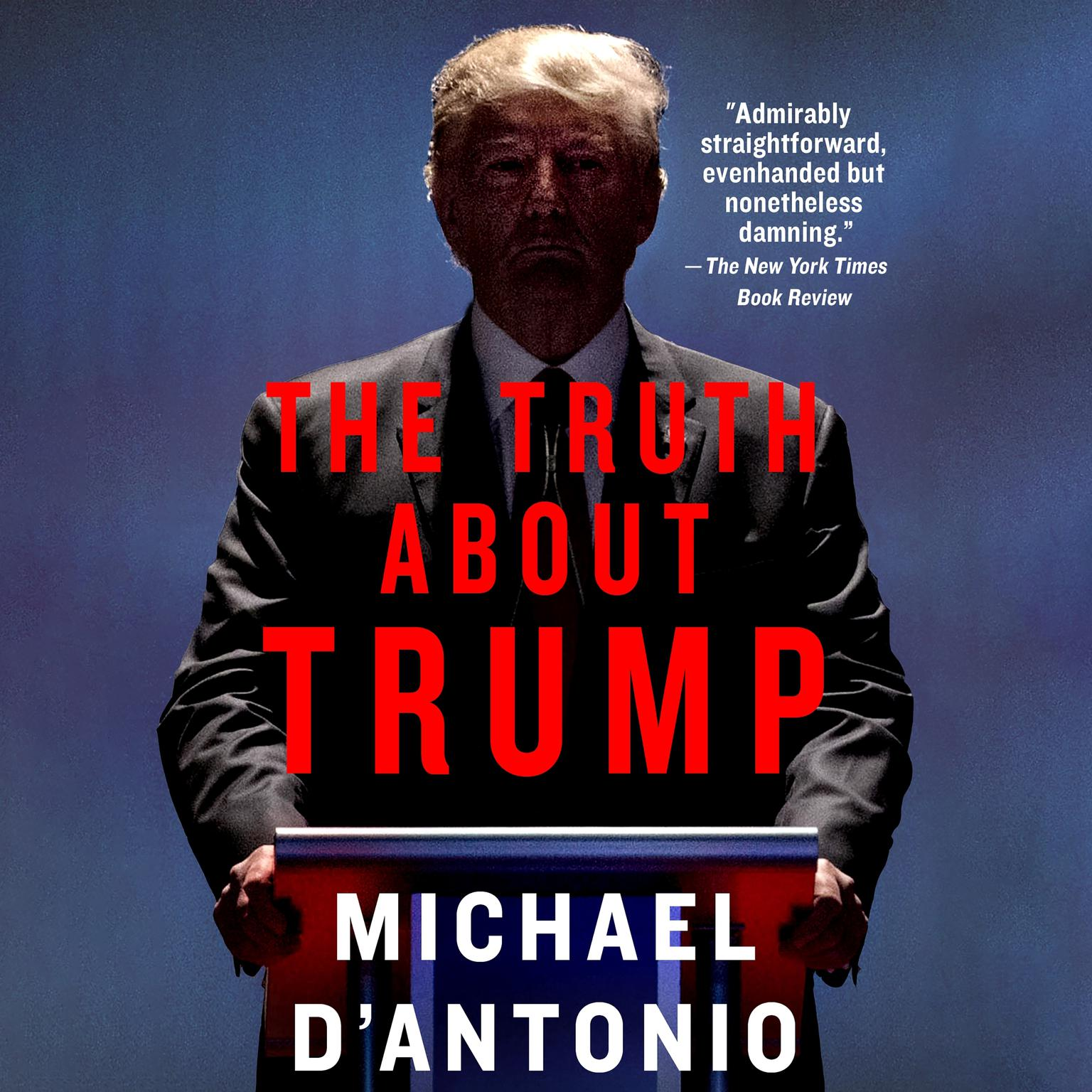 Printable The Truth about Trump Audiobook Cover Art