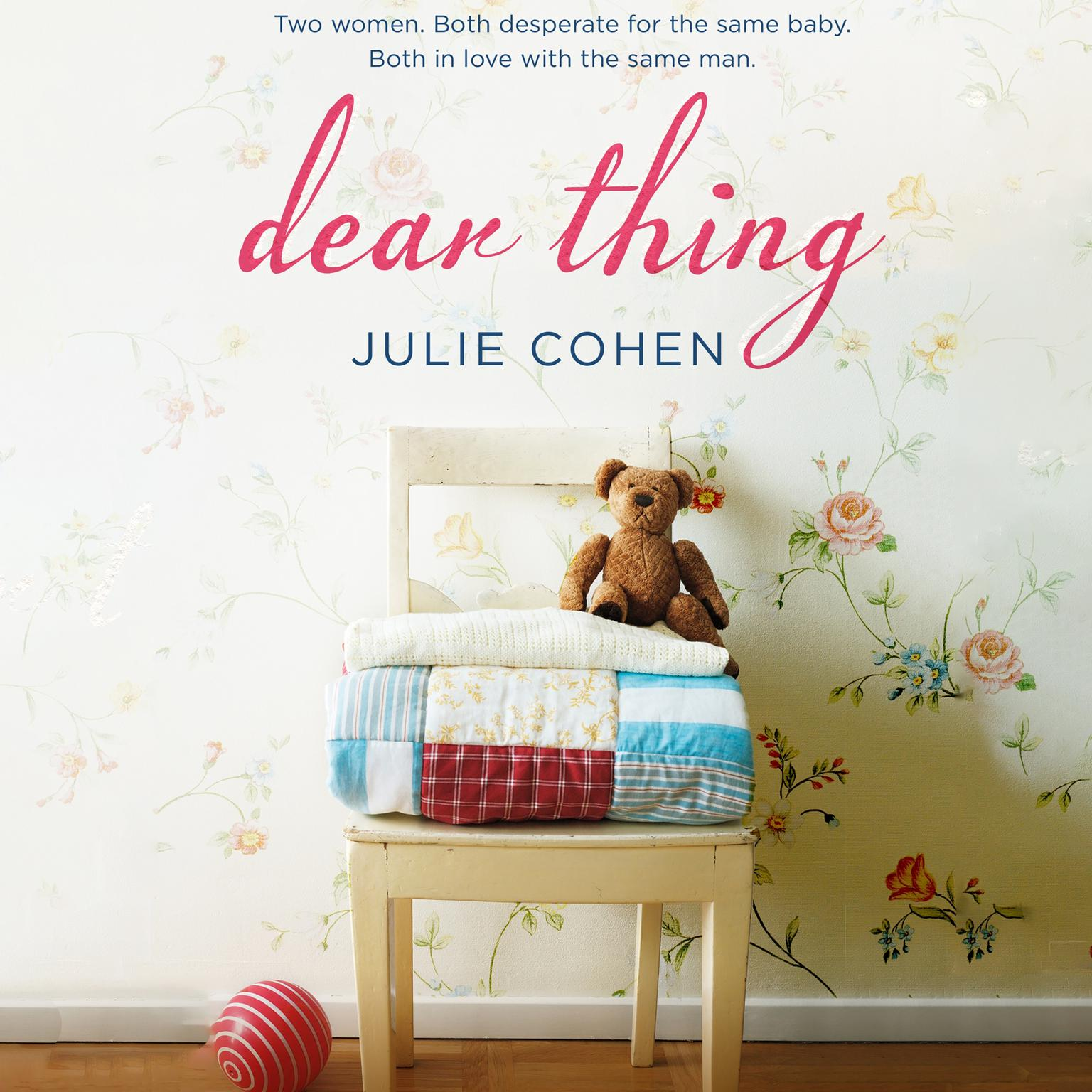 Printable Dear Thing Audiobook Cover Art