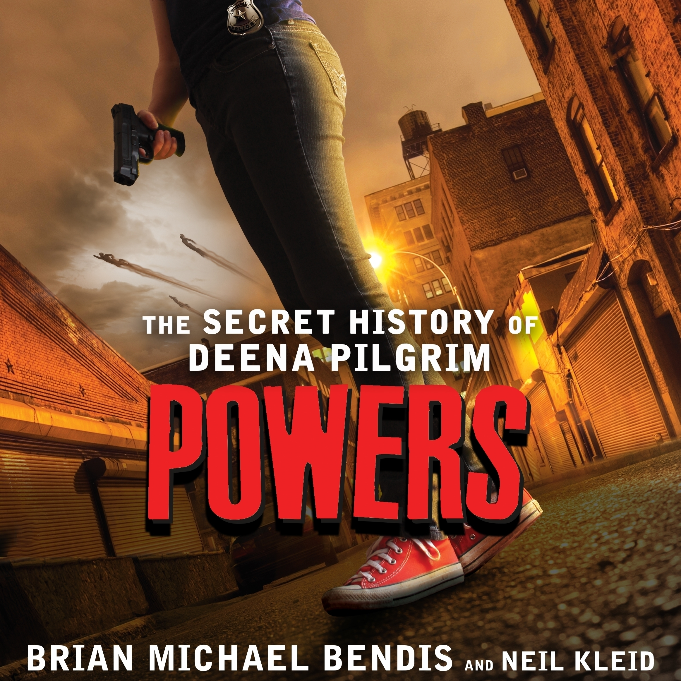 Printable Powers: The Secret History of Deena Pilgrim Audiobook Cover Art