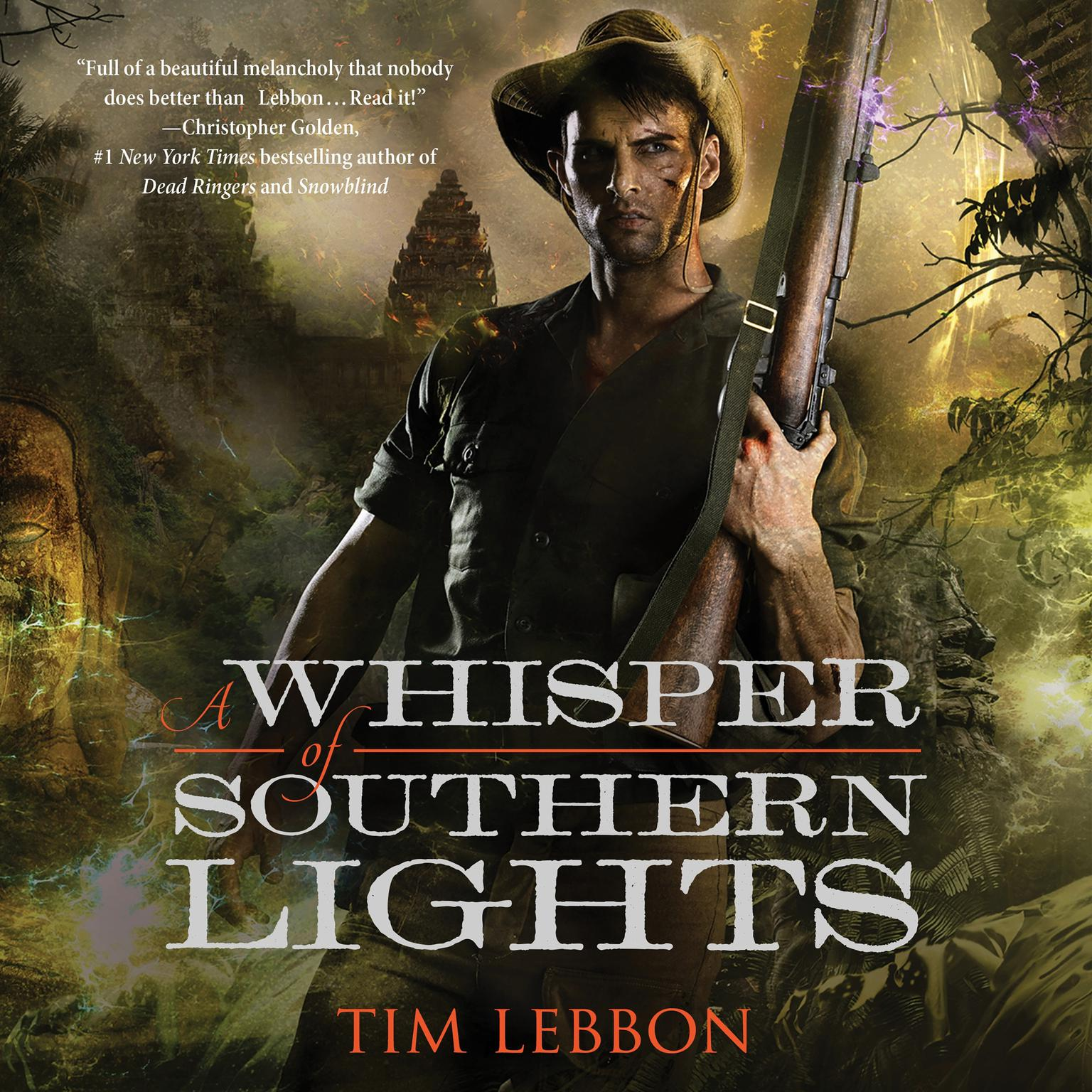 Printable A Whisper of Southern Lights Audiobook Cover Art
