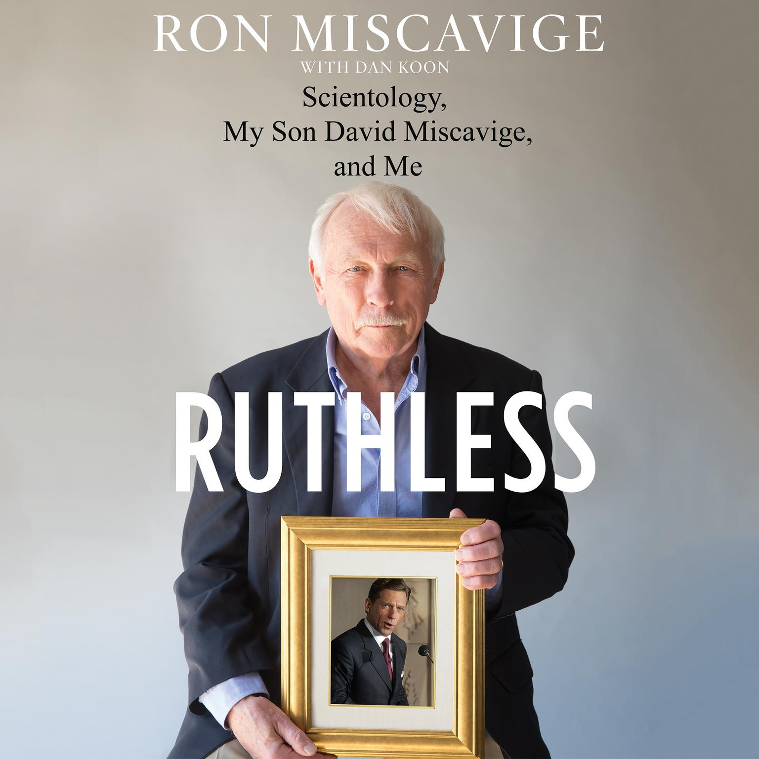 Printable Ruthless: Scientology, My Son David Miscavige, and Me Audiobook Cover Art