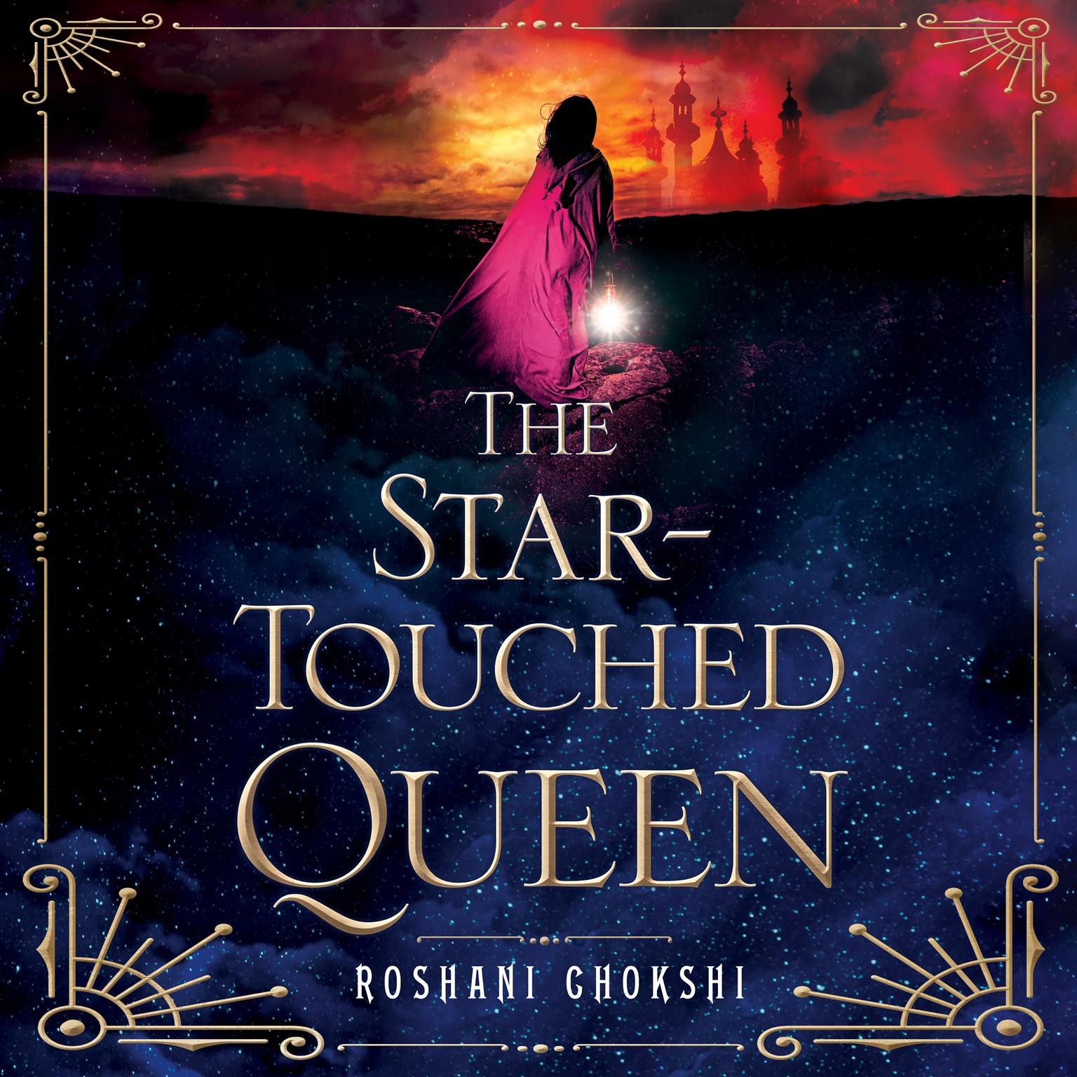 Printable The Star-Touched Queen Audiobook Cover Art