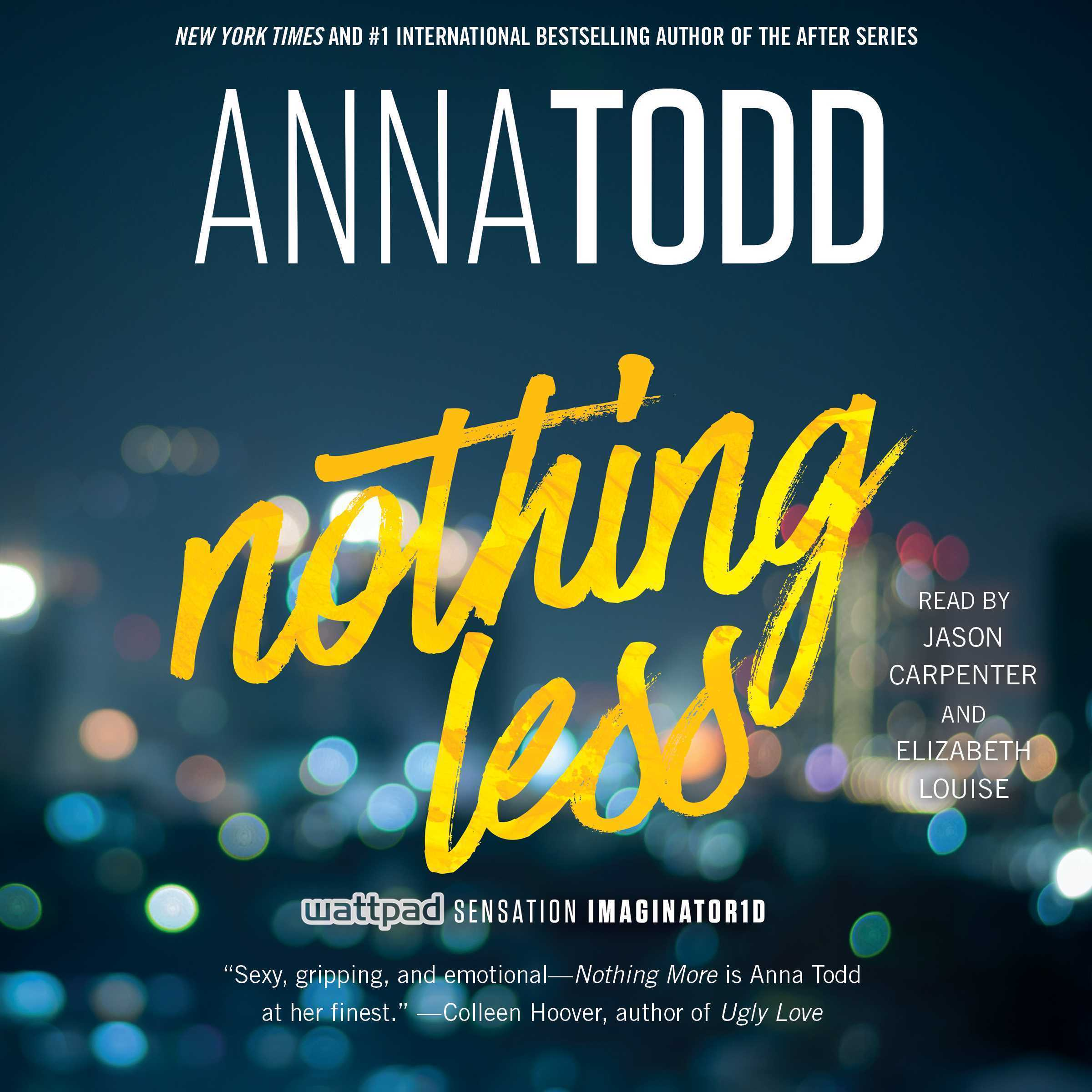 Printable Nothing Less Audiobook Cover Art