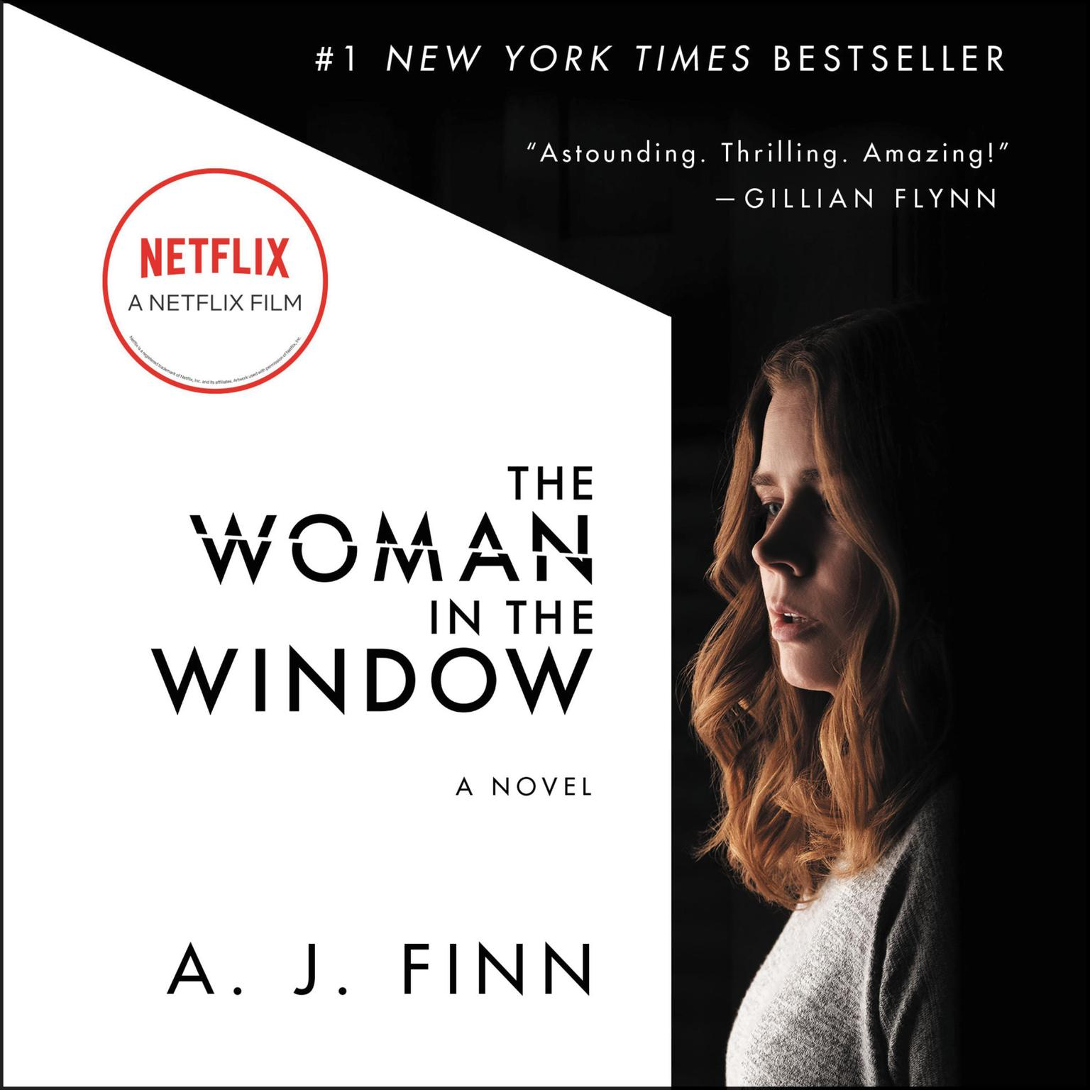 Printable The Woman in the Window: A Novel Audiobook Cover Art