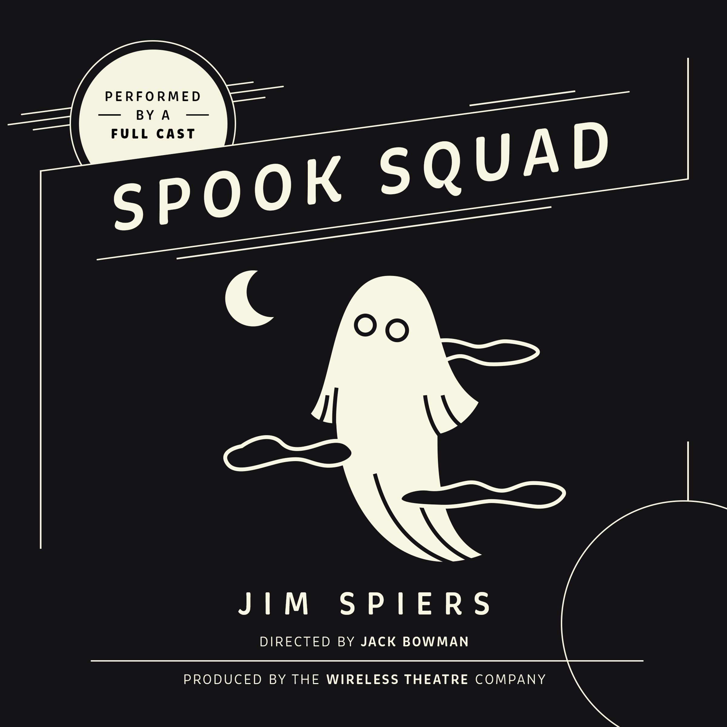 Printable Spook Squad Audiobook Cover Art