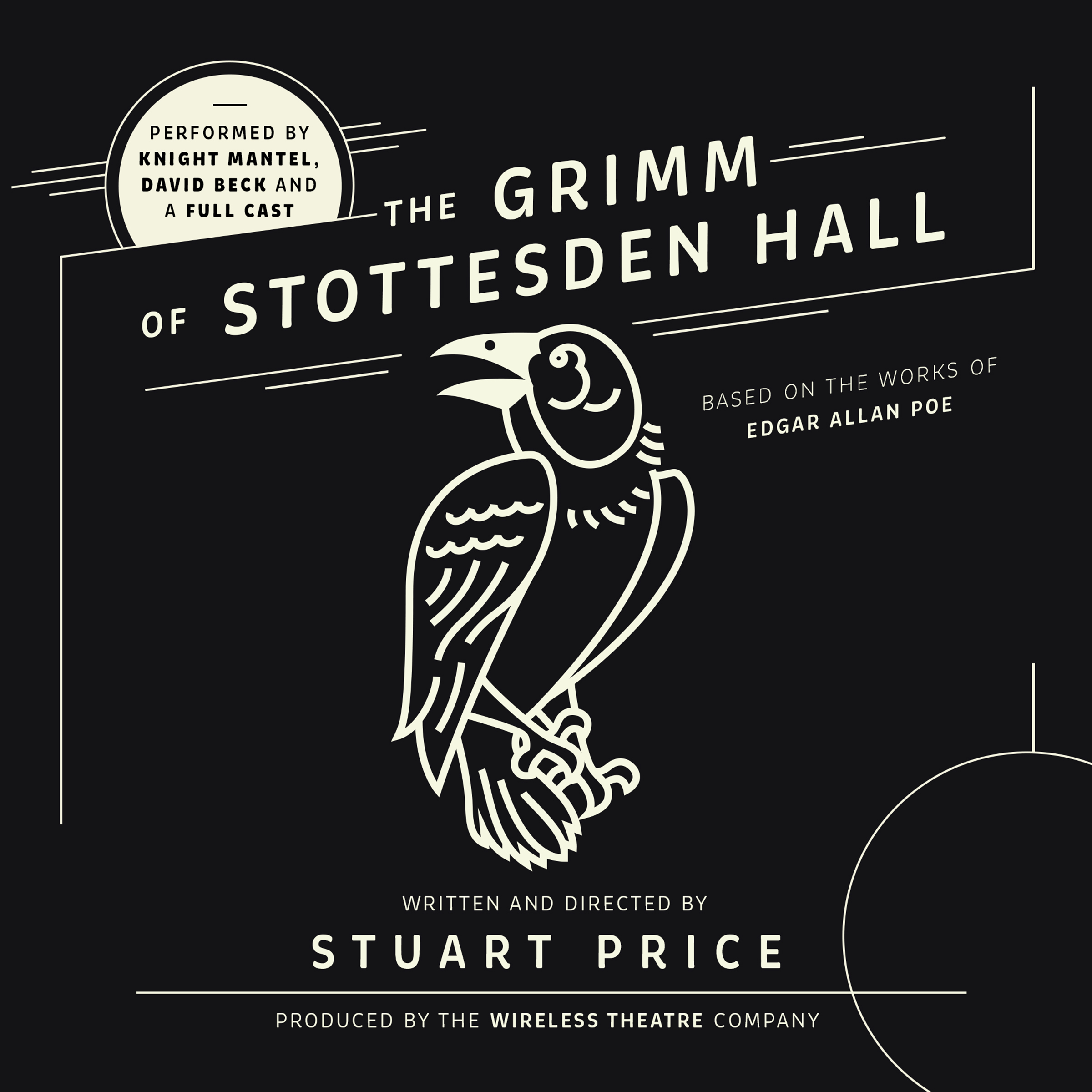 Printable The Grimm of Stottesden Hall Audiobook Cover Art