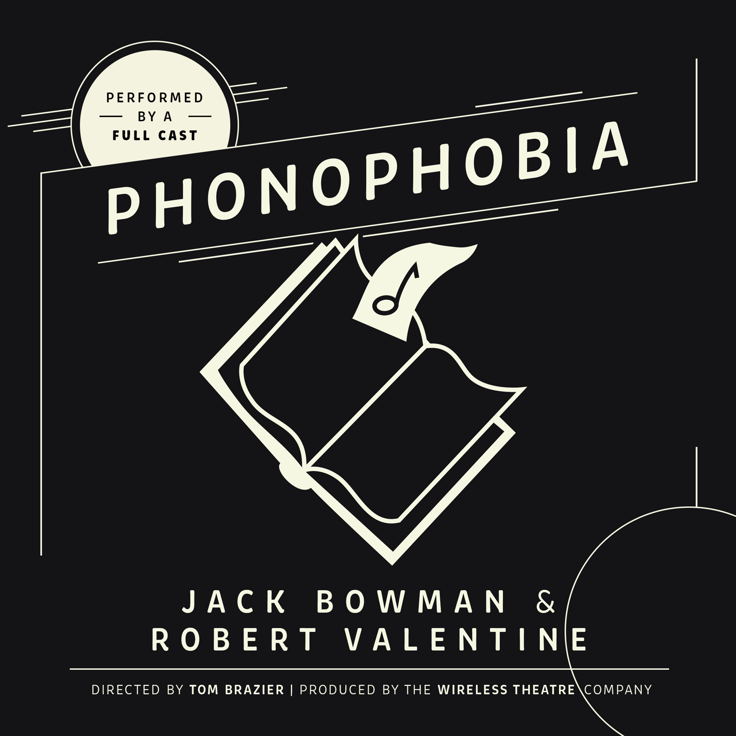 Printable Phonophobia Audiobook Cover Art