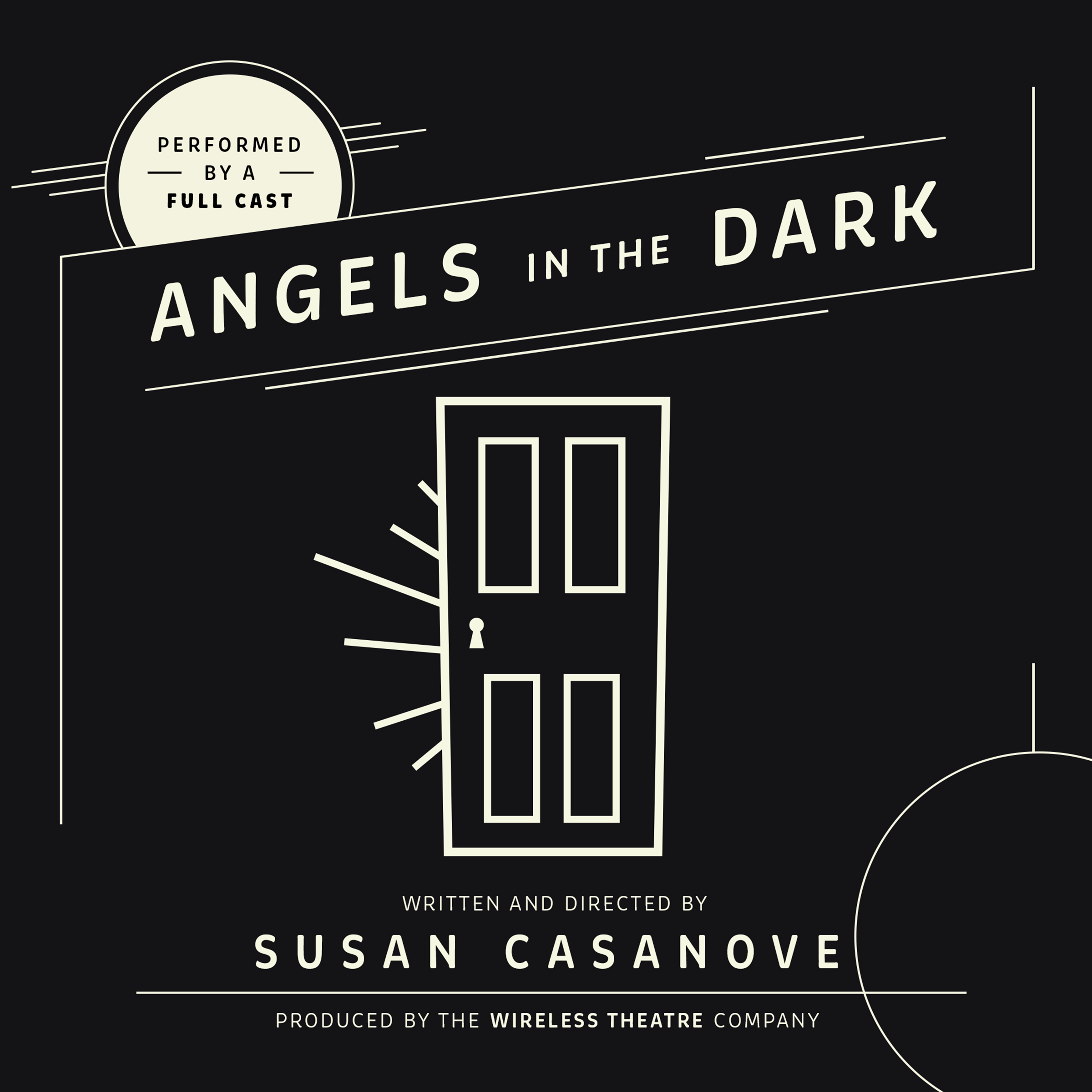 Printable Angels in the Dark Audiobook Cover Art